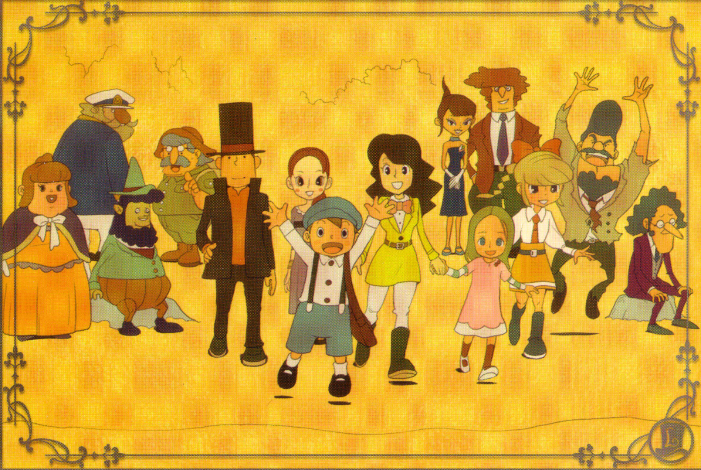Professor Layton Backgrounds Posted By Sarah Anderson
