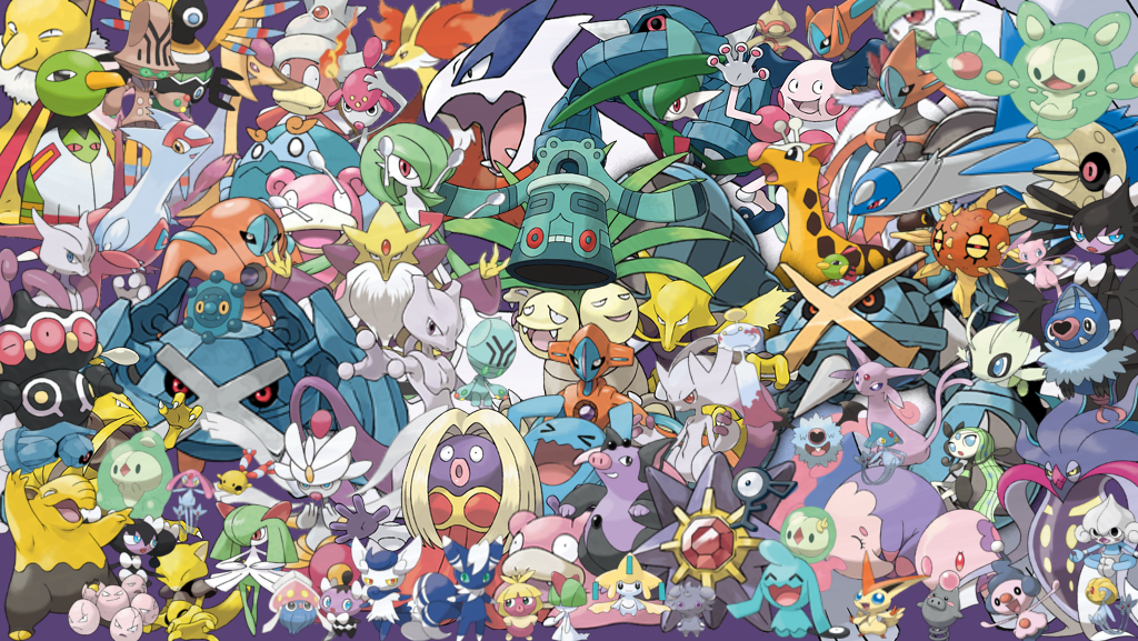 Psychic Pokemon Wallpaper Posted By Ryan Cunningham