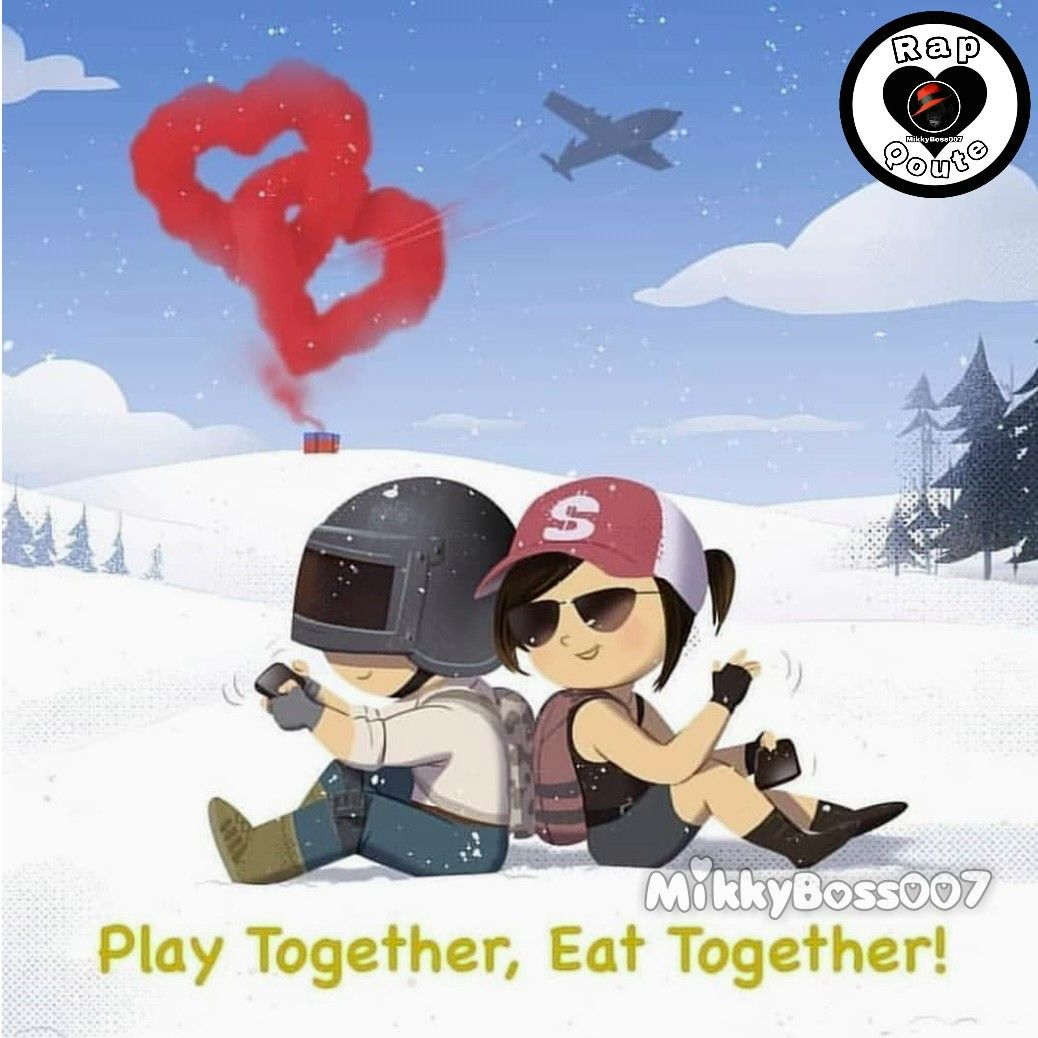 Baby Face PUBG warriors couple Gaming wallpapers Cute