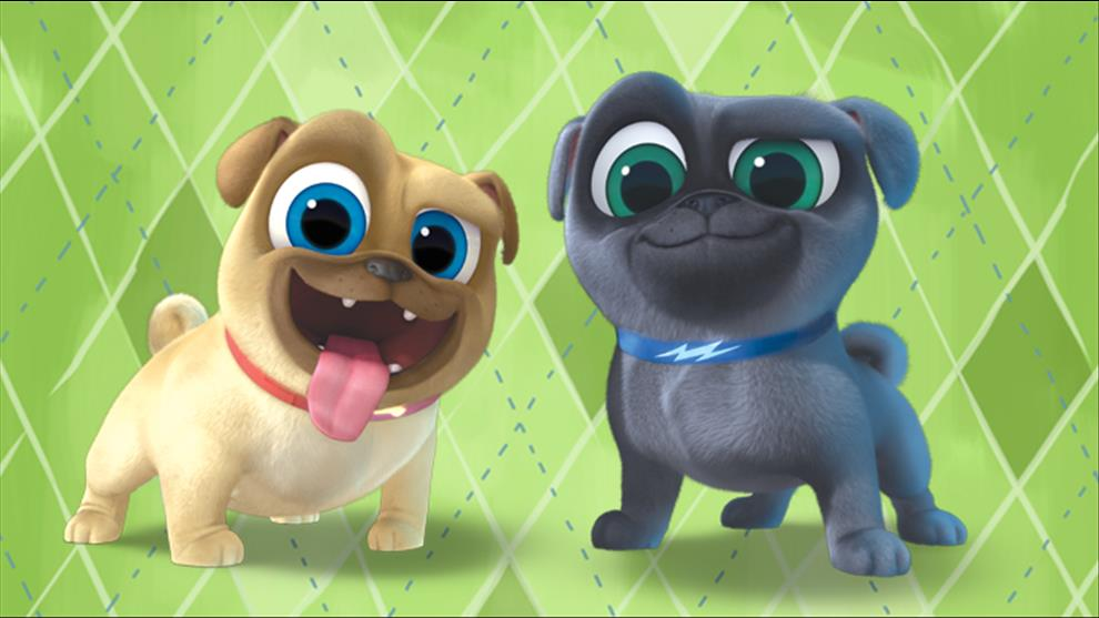 Puppy Dog Pals Background Posted By Zoey Peltier