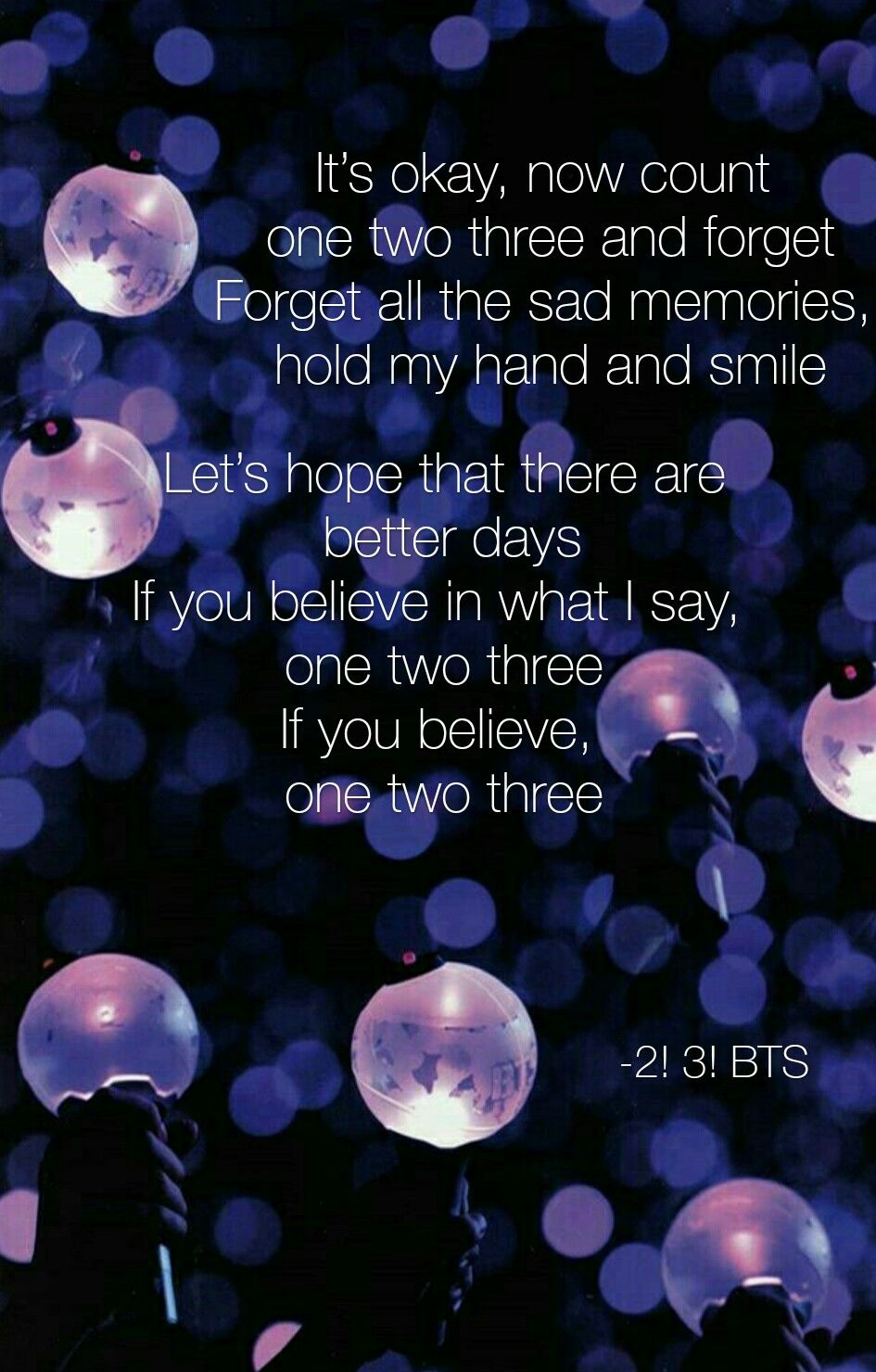 2 3 BTS purple ARMY bomb lyric Wallpaper in 2019 Bts