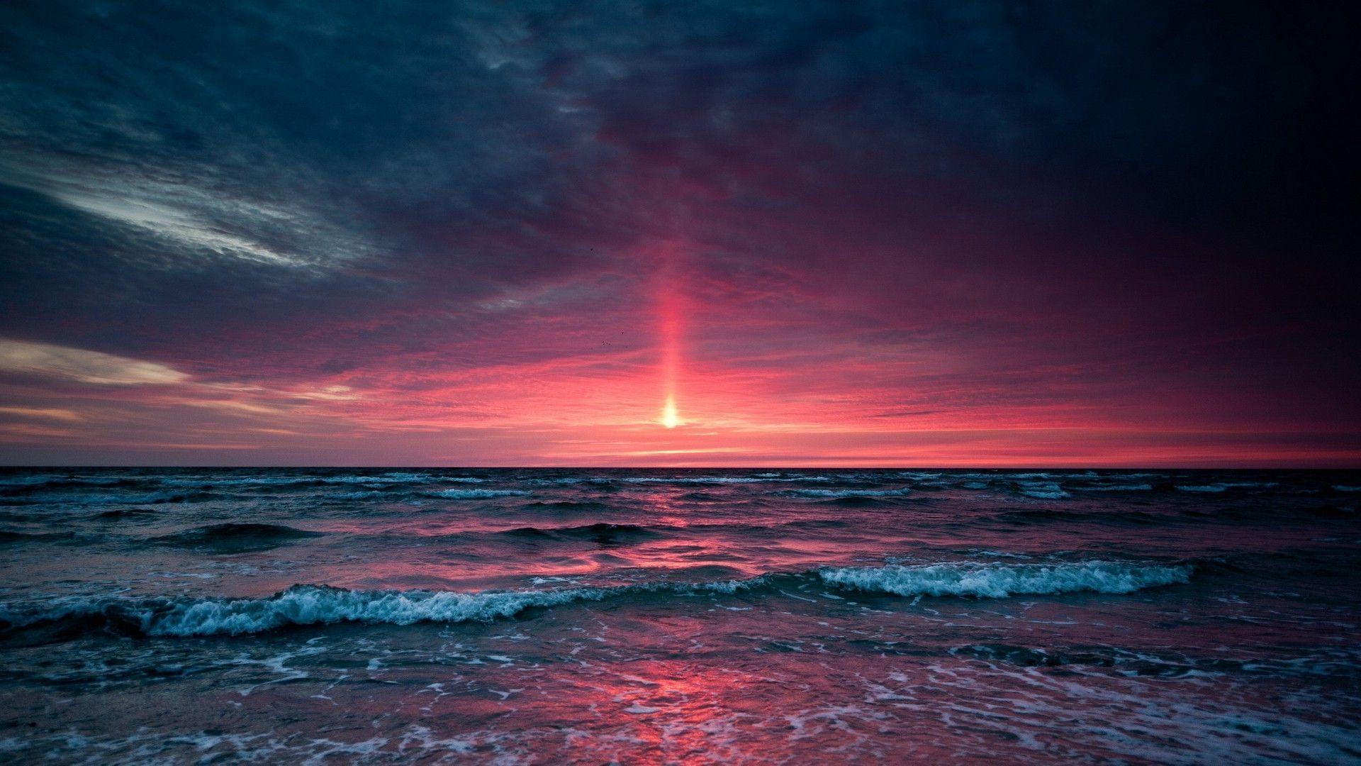 Aesthetic Sunset Desktop Wallpapers Top Free Aesthetic