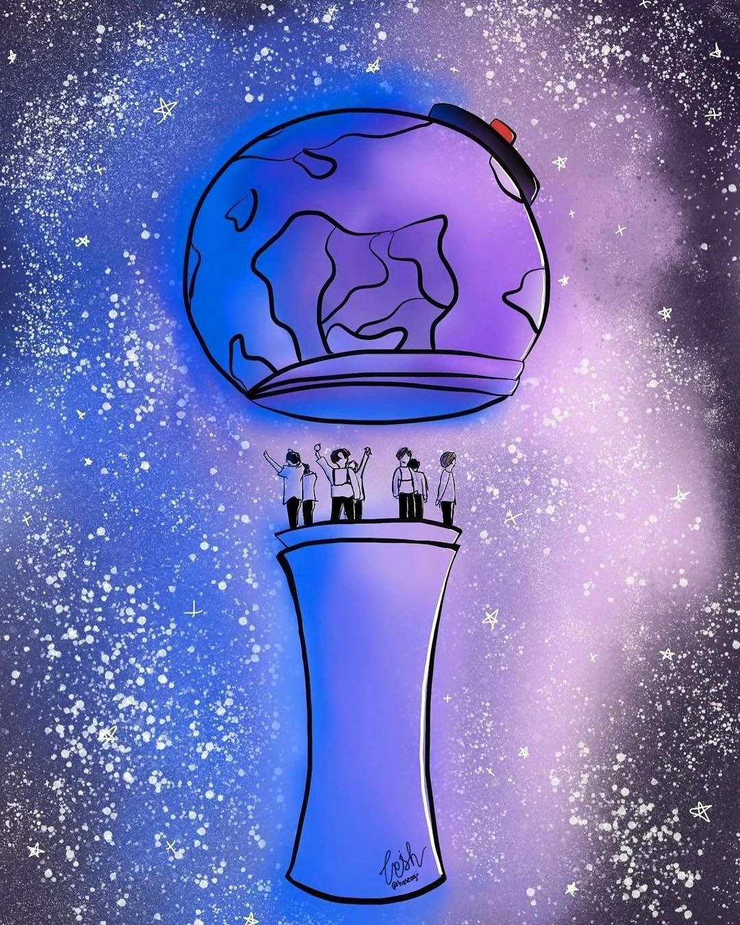 BTS Army Bomb Wallpapers Top Free BTS Army Bomb