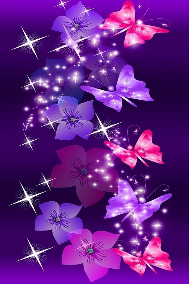 Purple Butterfly Backgrounds Posted By Sarah Johnson