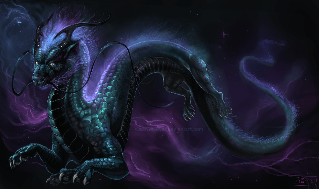 Galaxy Dragon Wallpapers Desktop Wallpaper