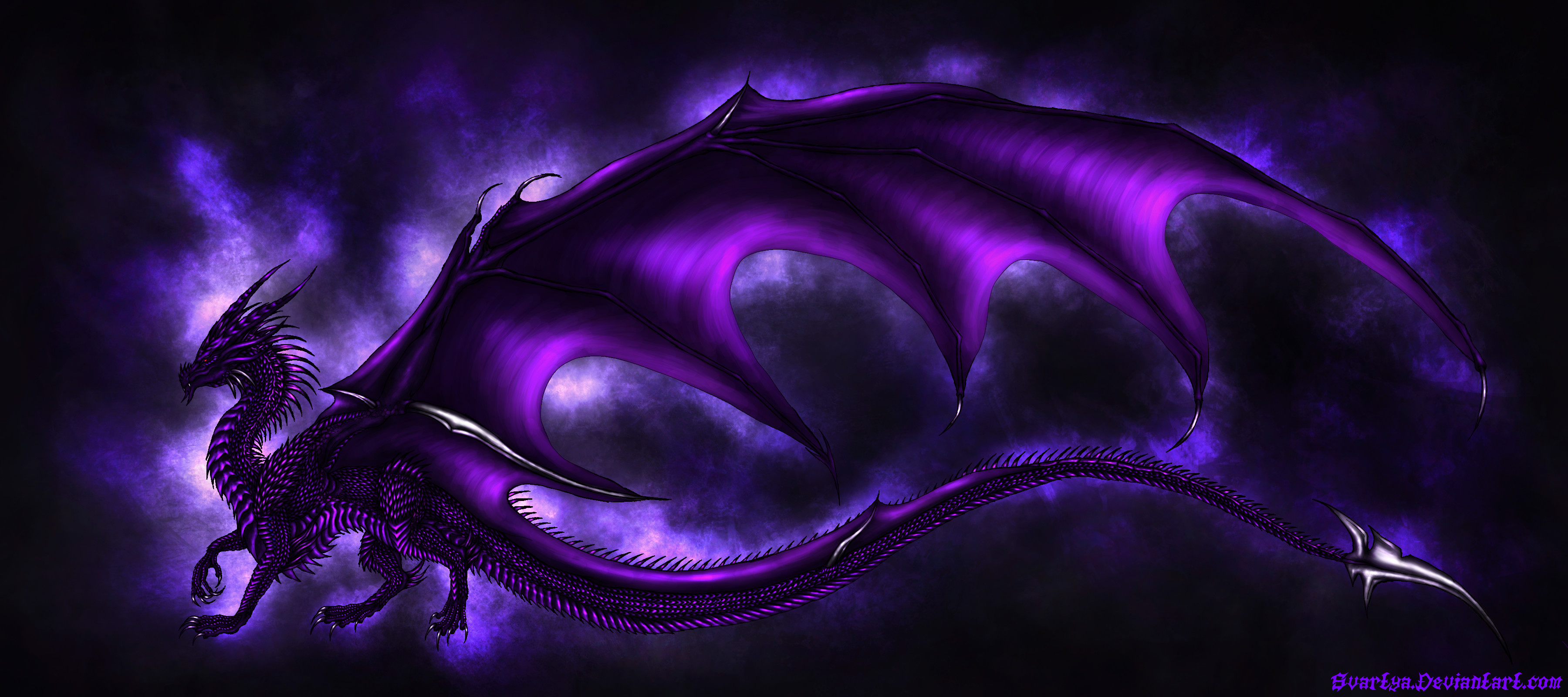Purple Dragon Wallpapers the best 68+ images in 2018