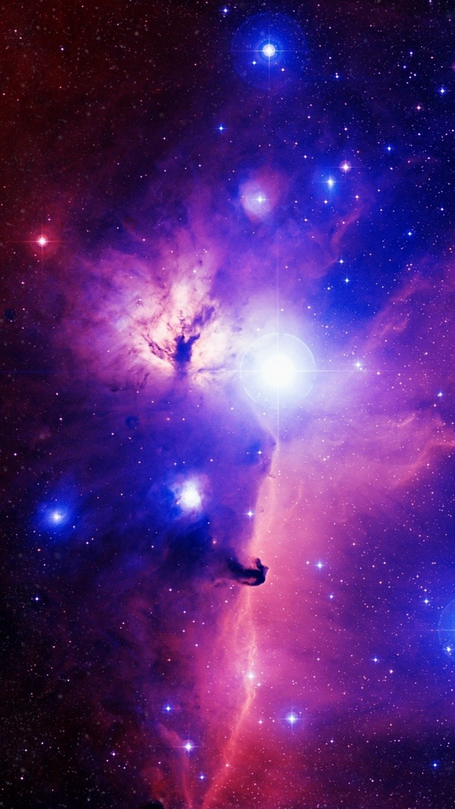 Purple Galaxy Iphone Wallpaper Posted By Michelle Peltier