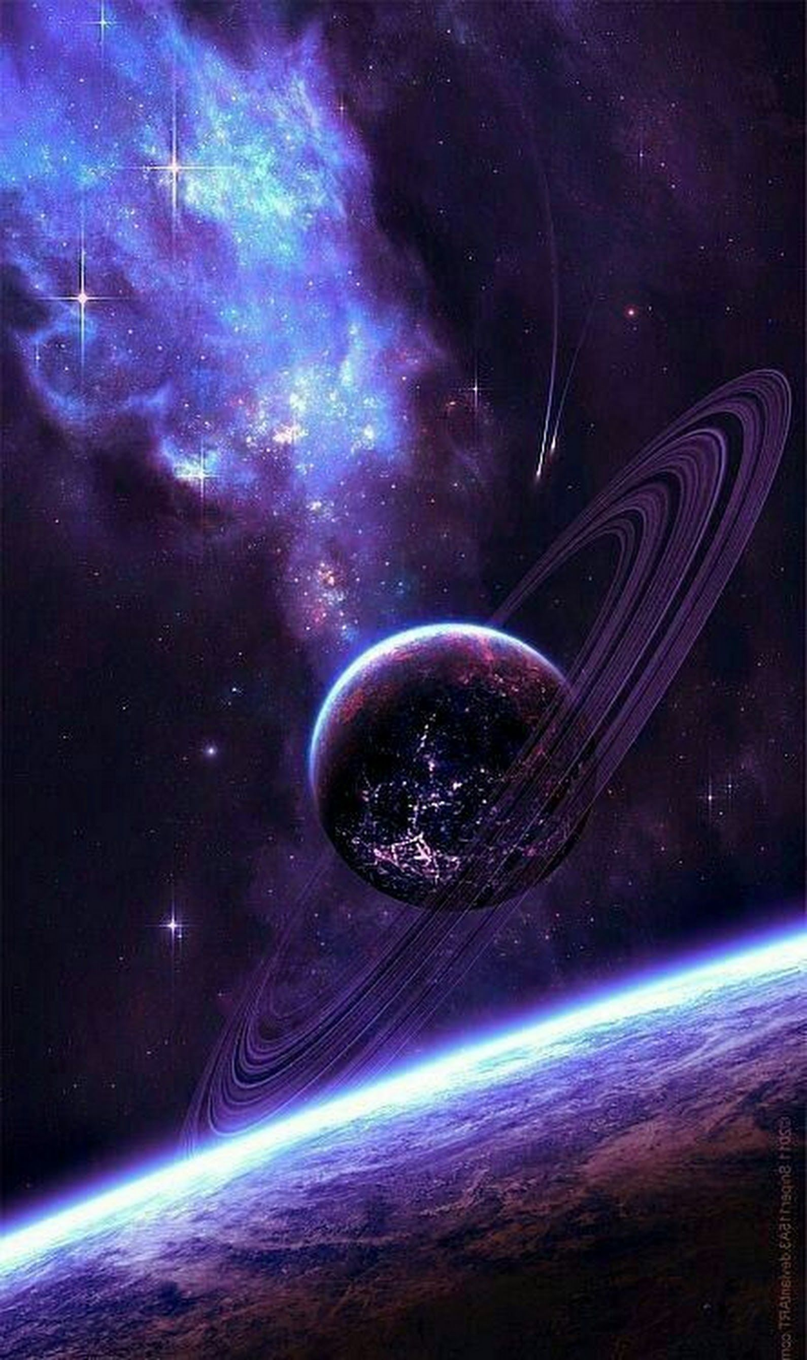 iPhone Wallpaper Outer space Universe Astronomical