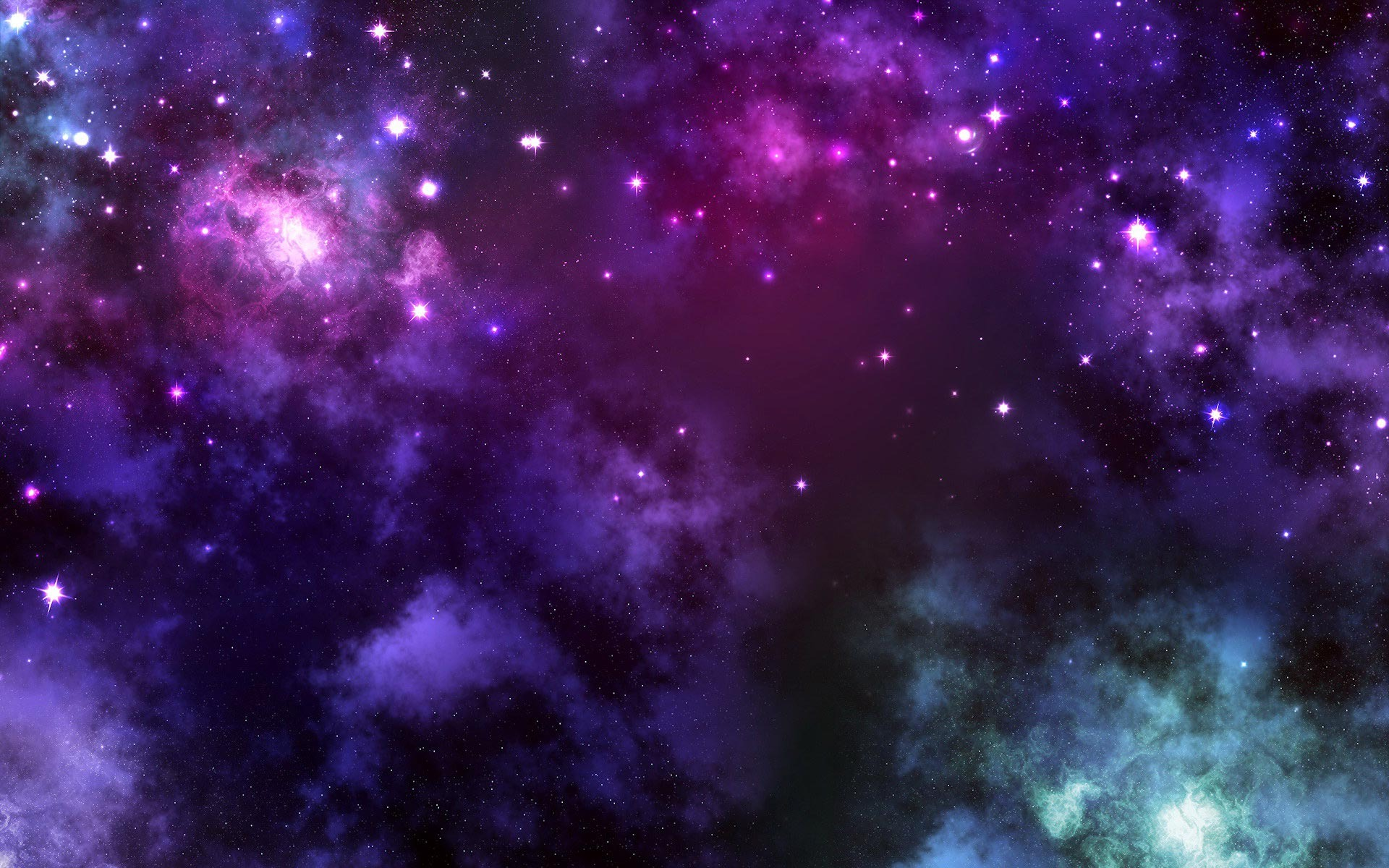 Wallpaper Purple Galaxy Bedroom Space Fora Your Tablet