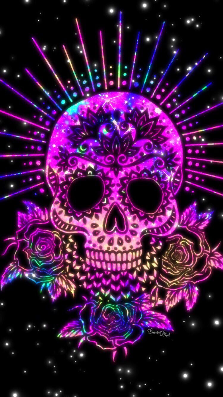 Purple Skulls Wallpaper Posted By John Sellers