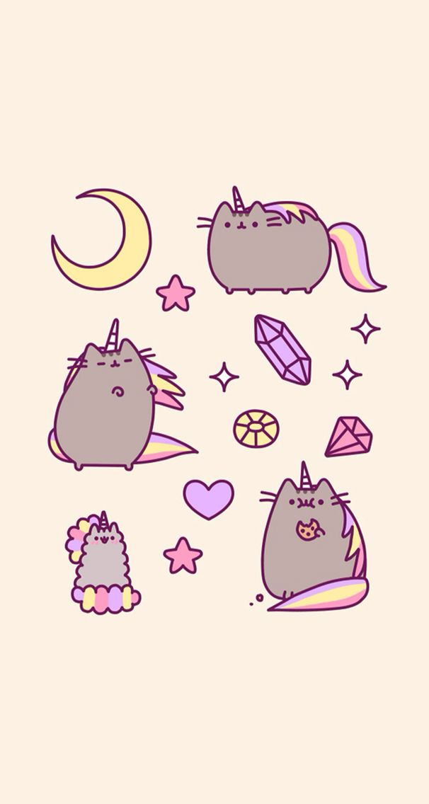 Pusheen Computer Wallpaper Posted By Zoey Mercado