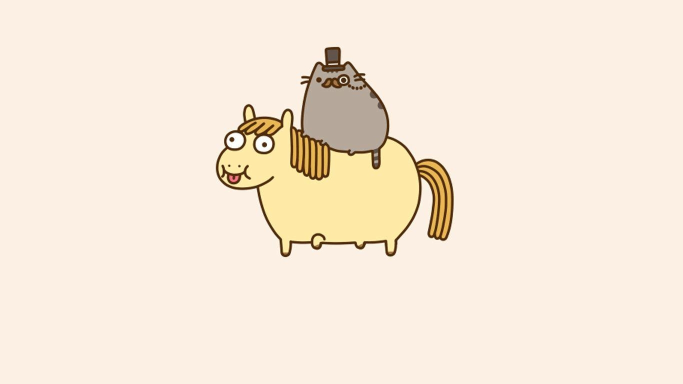 Pusheen Desktop Wallpaper Posted By Zoey Walker