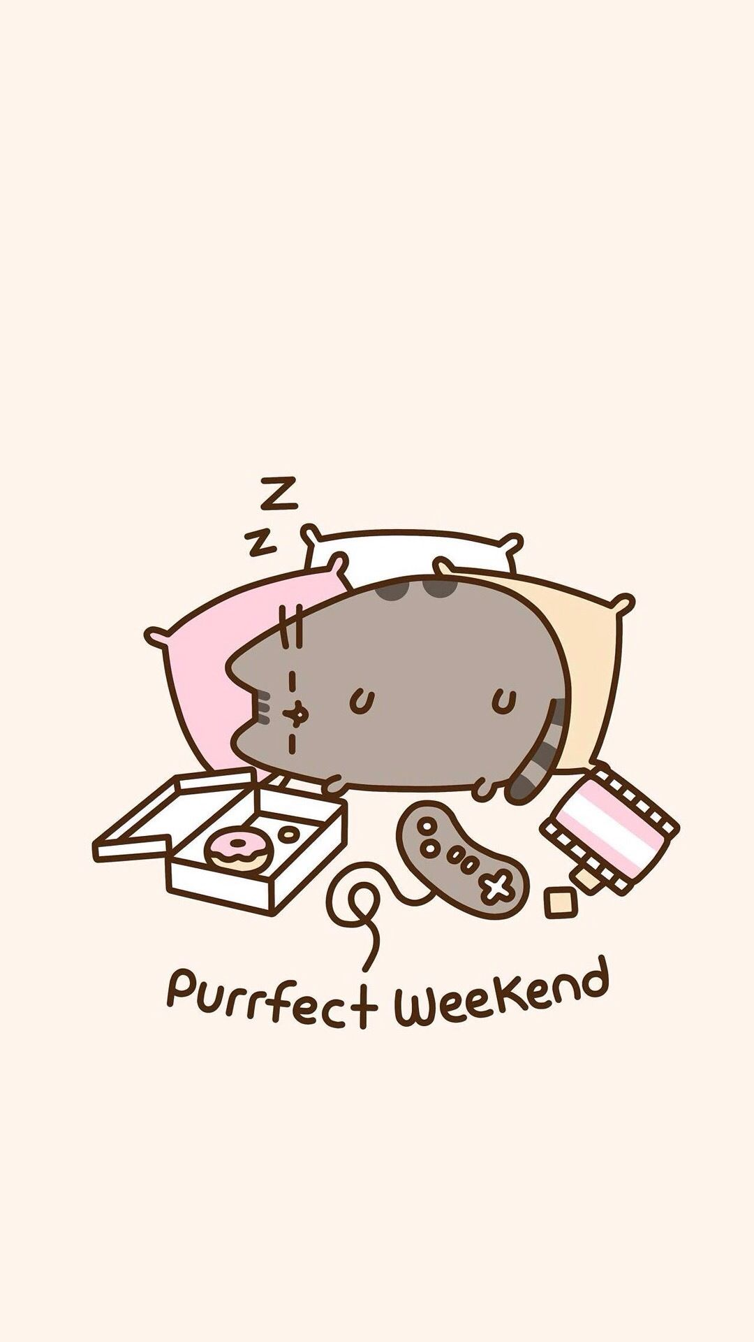 Pusheen Wallpaper Laptop Posted By Zoey Mercado
