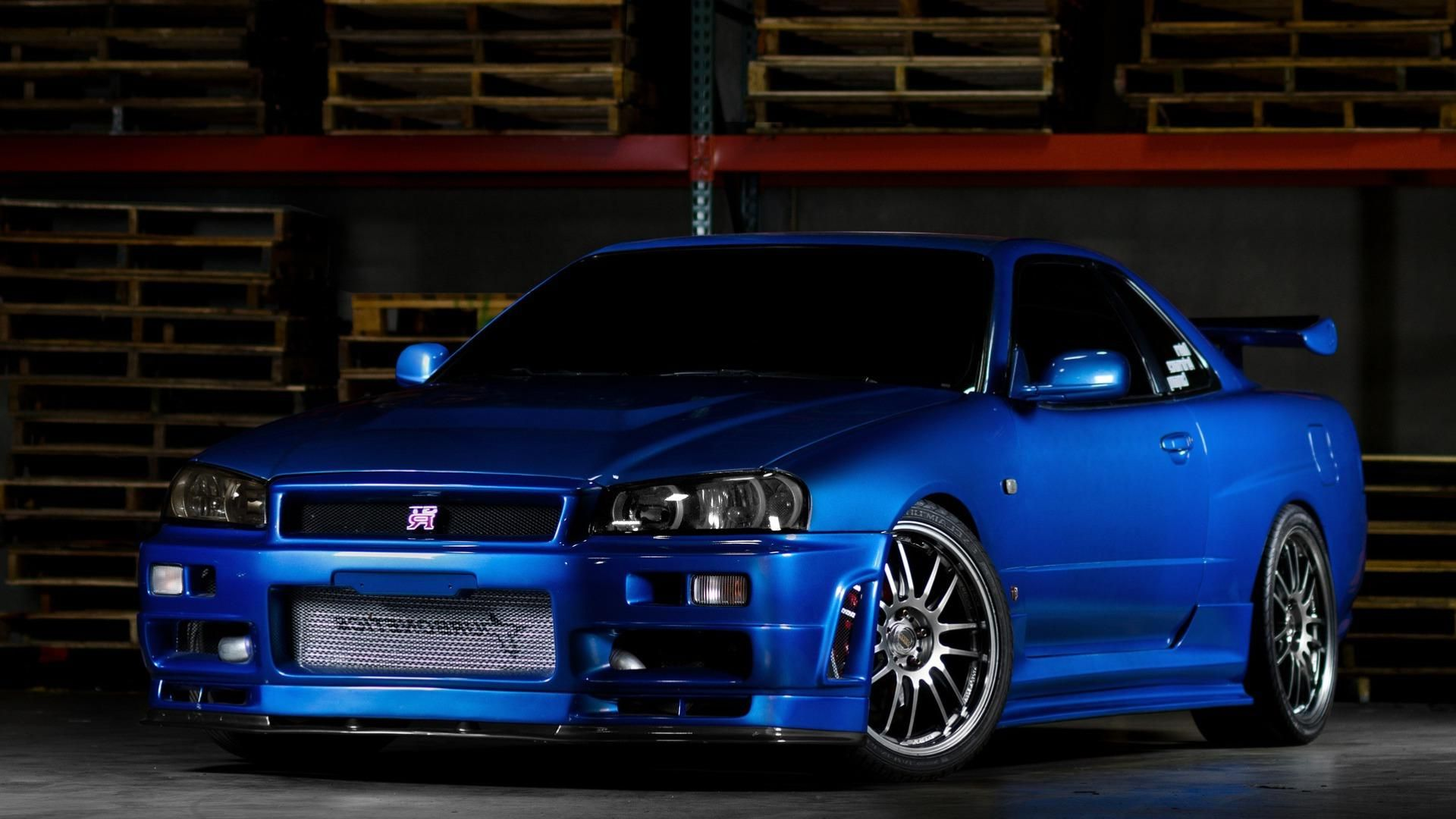 R34 Skyline Wallpaper