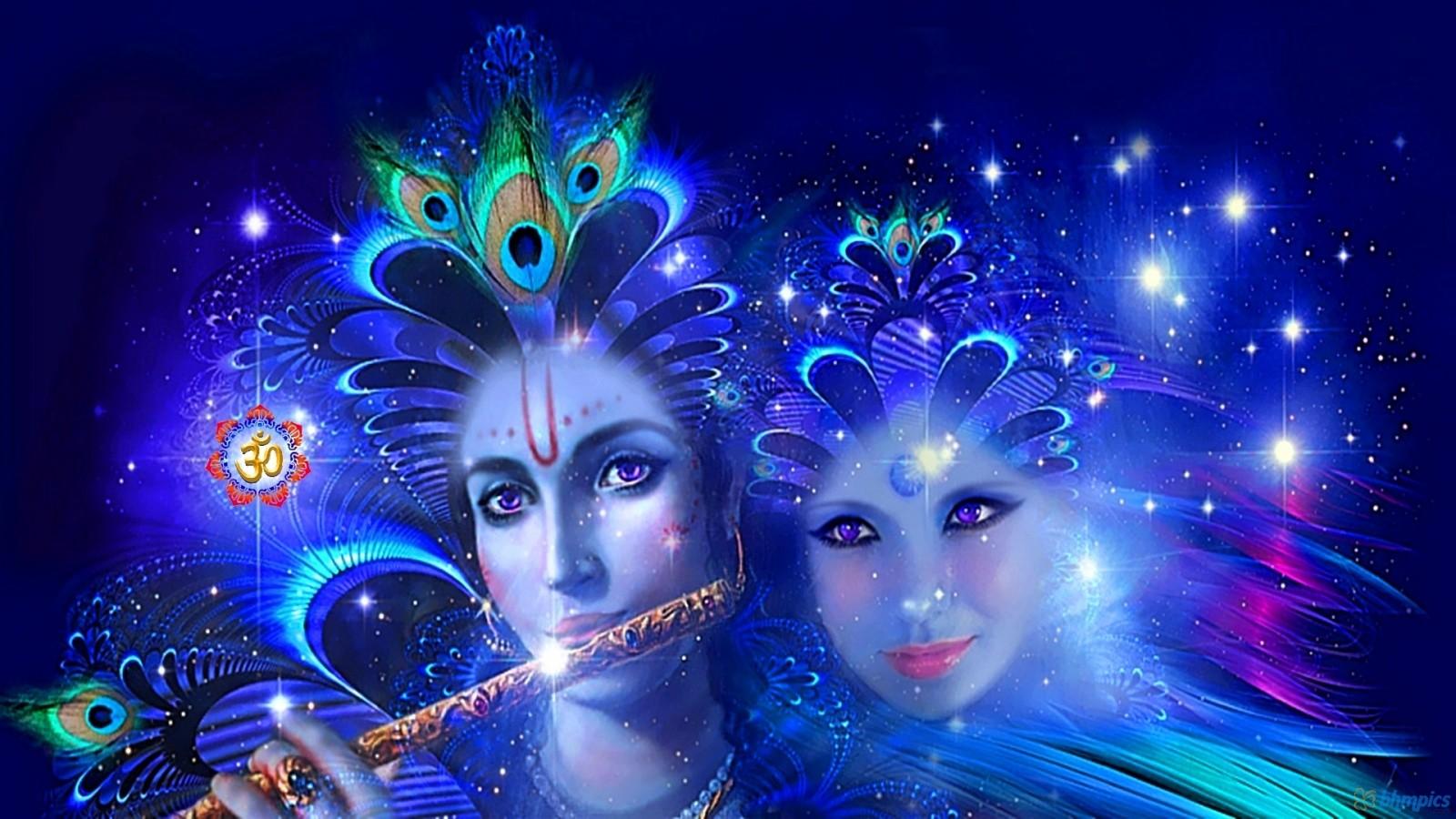 3D HD Radha Krishna Wallpaper Desktop HD Wallpaper