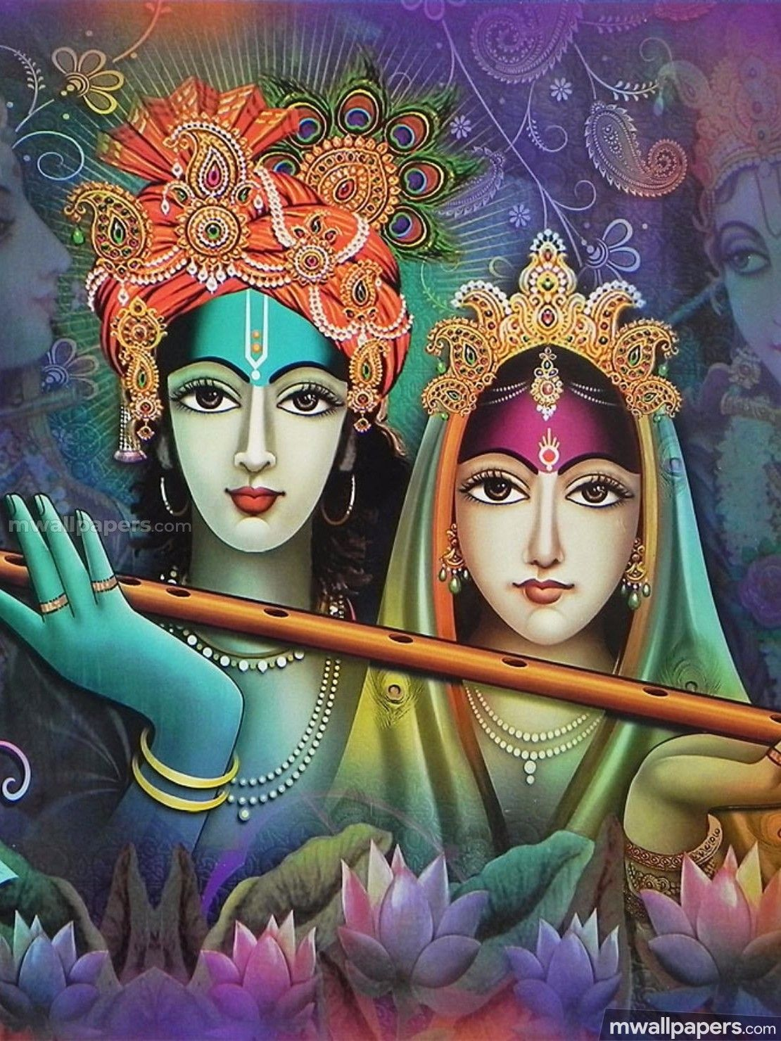 Hindu God Hd Wallpapers 1080p Radha Krishna Beautiful