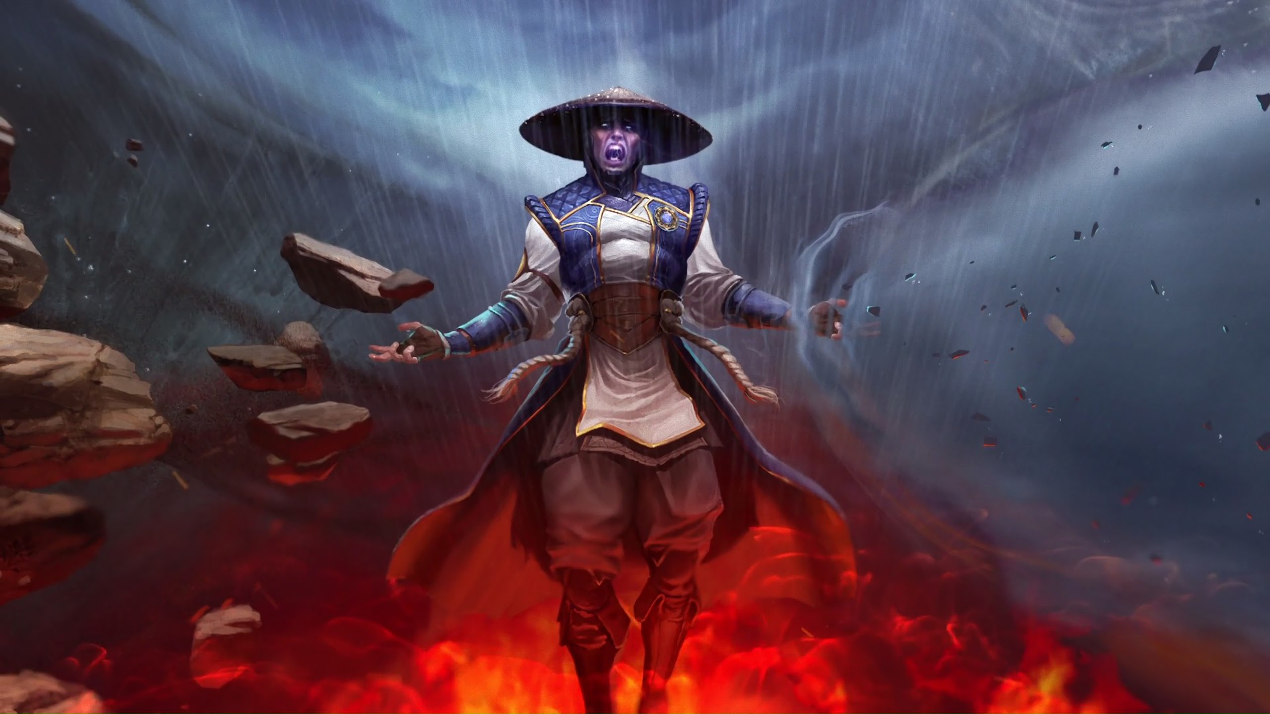 Raiden Mortal Kombat Wallpapers Posted By Michelle Cunningham