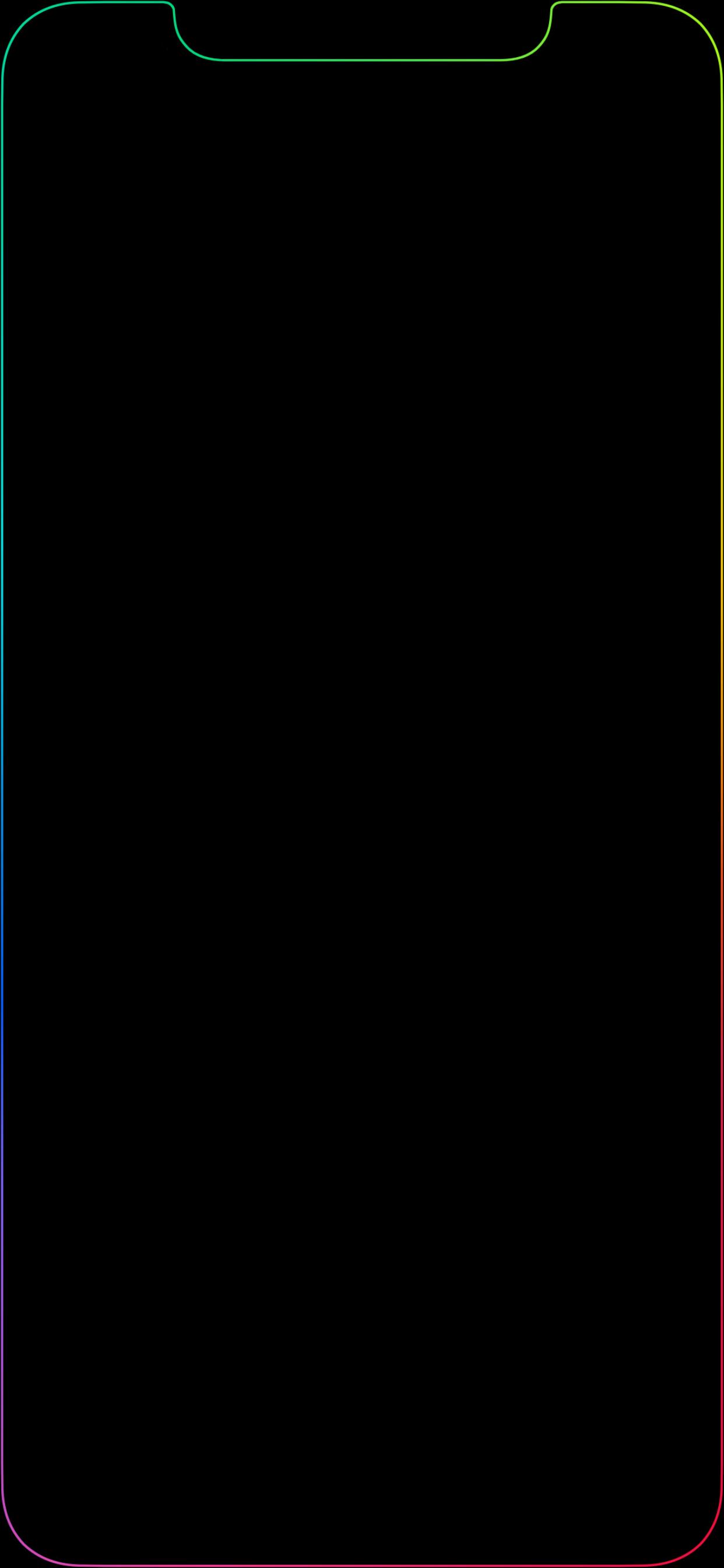 Rainbow Black Wallpaper Posted By Ryan Peltier