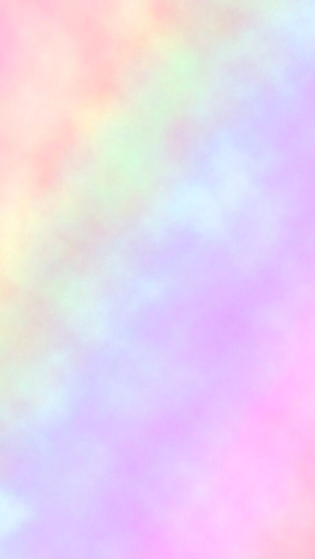 Rainbow pastel iPhone wallpaper PastelGalaxy Lockscreen