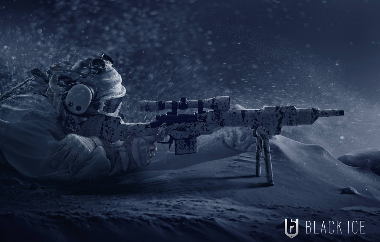 Wallpaper winter weapons art soldiers Tom Clancys