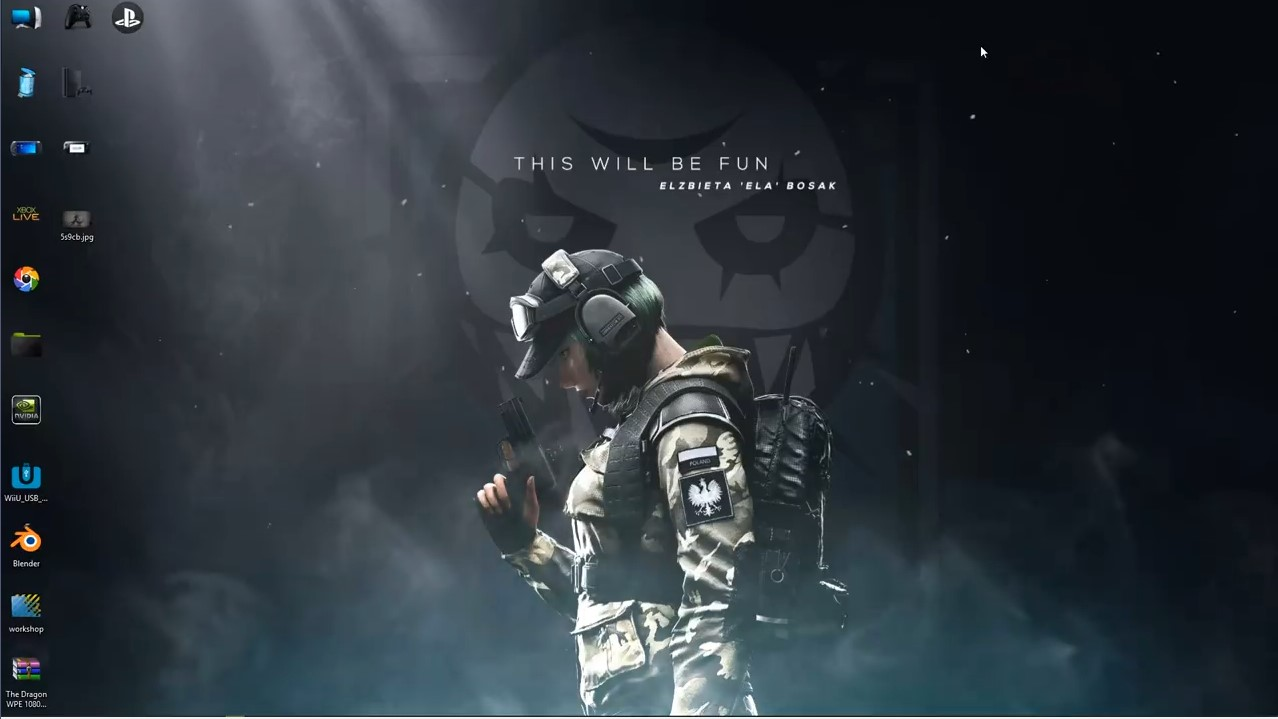 Rainbow Six Siege Ela Wallpaper Posted By John Tremblay