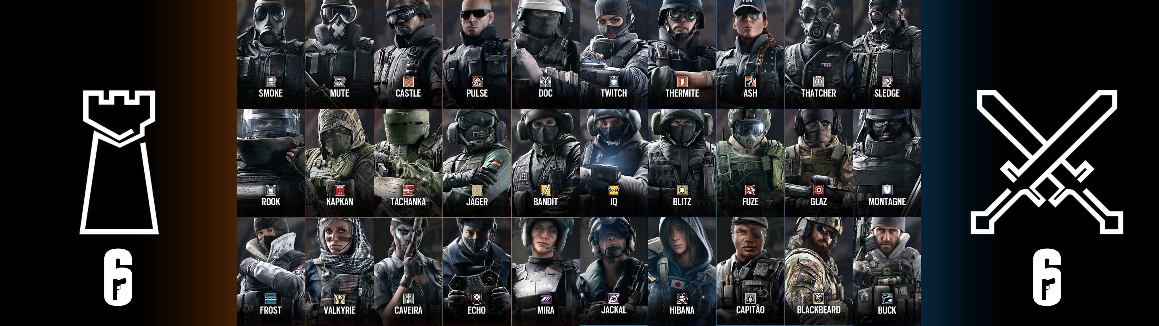 Rainbow Six Siege Wall Paper