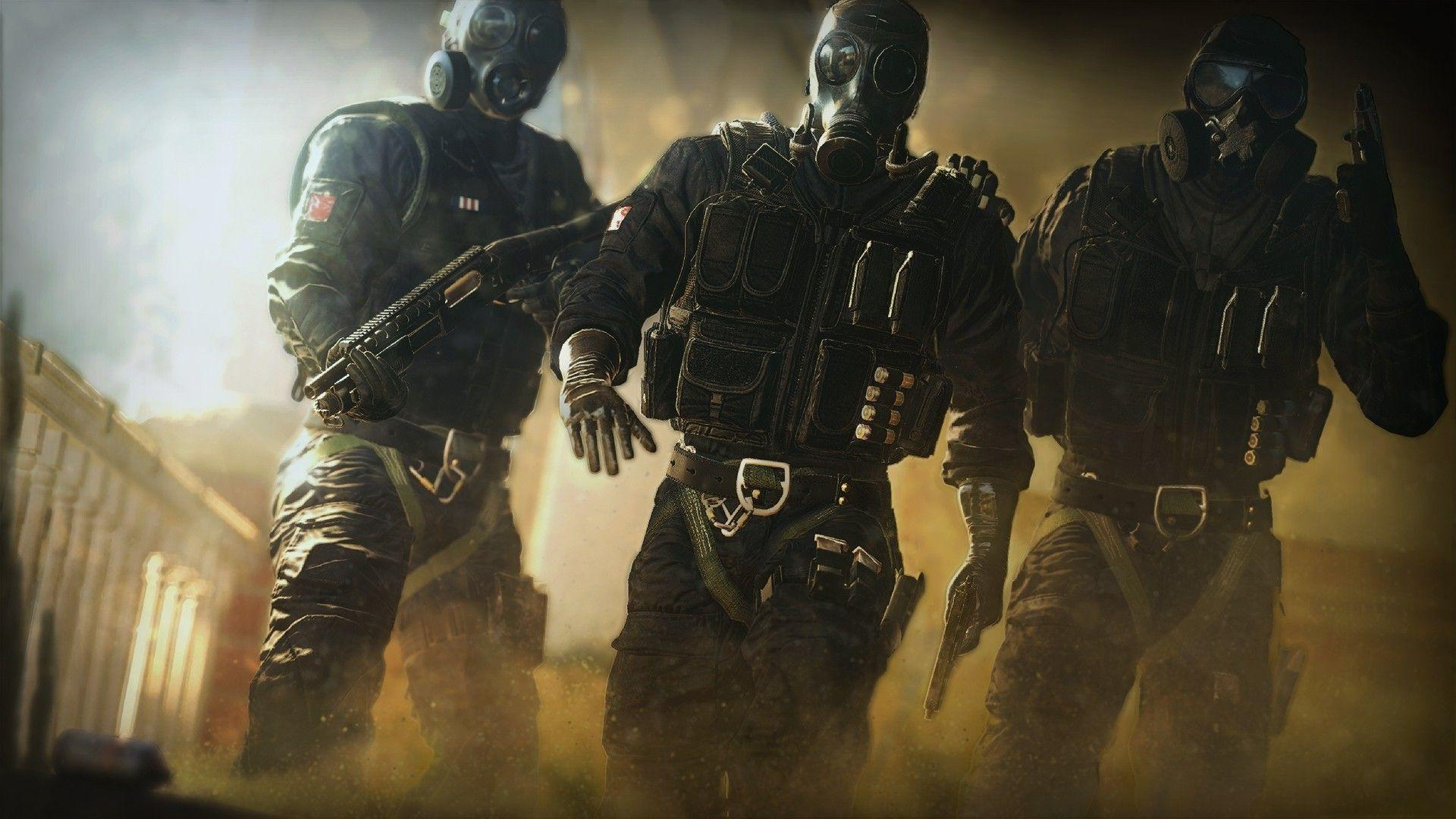 Rainbow Six Siege Wallpapers Hd Posted By Sarah Cunningham
