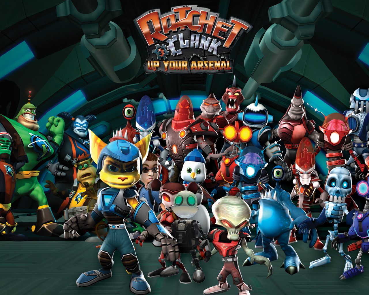 Ratchet And Clank Wallpaper Hd Posted By John Thompson