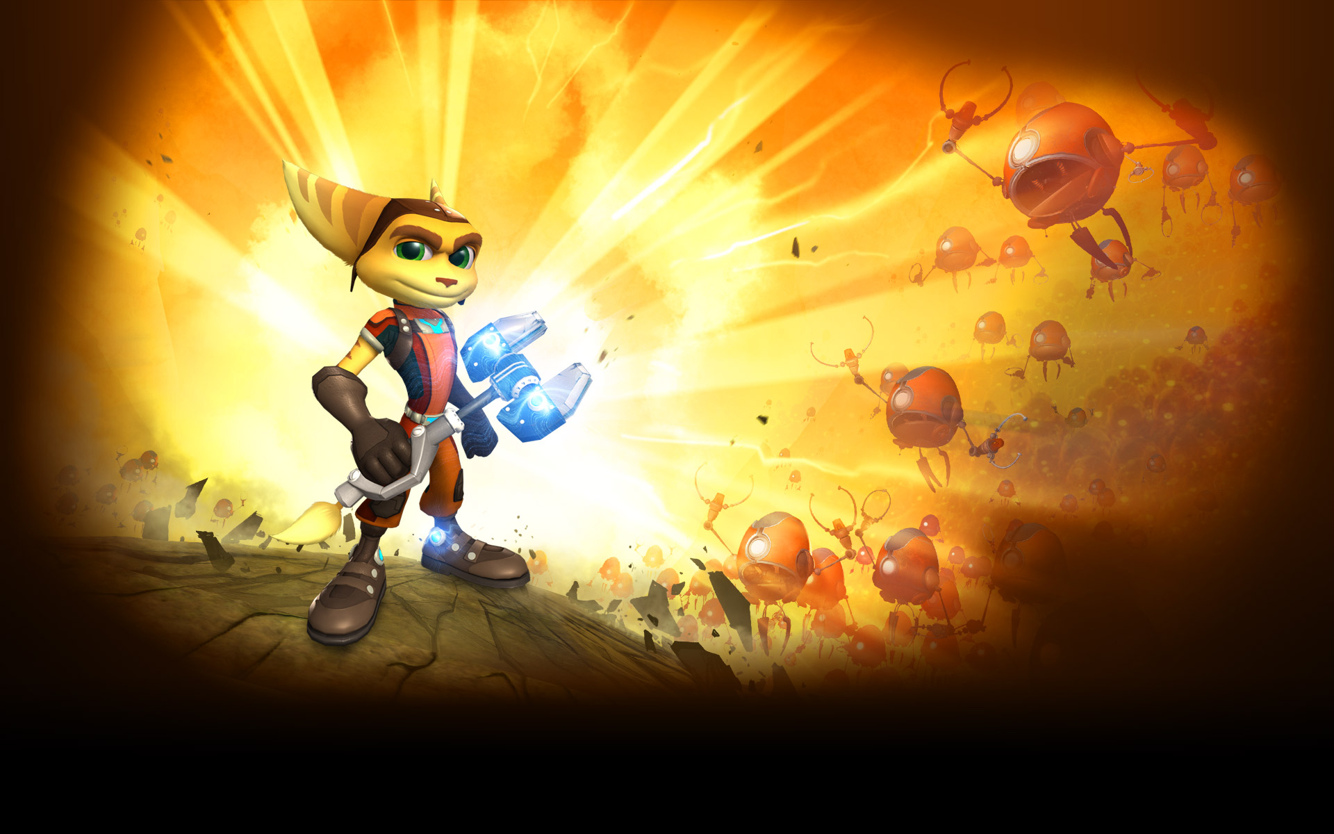 Ratchet Clank Wallpaper Posted By Ethan Thompson