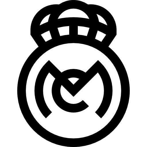 Real Madrid Logo Black Posted By Ethan Anderson