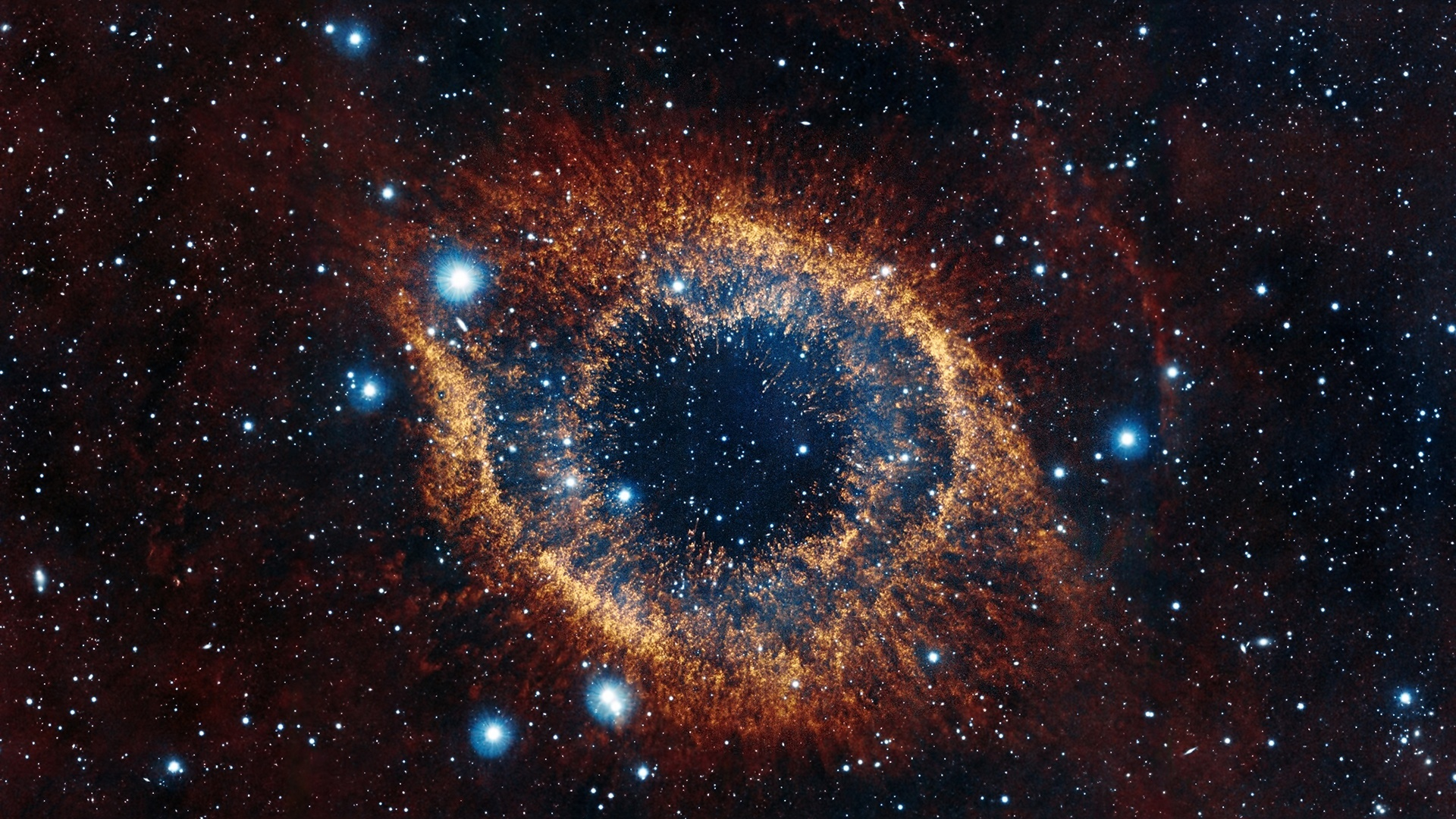 Download 1920x1080 Wallpaper eye of nebula real space HD