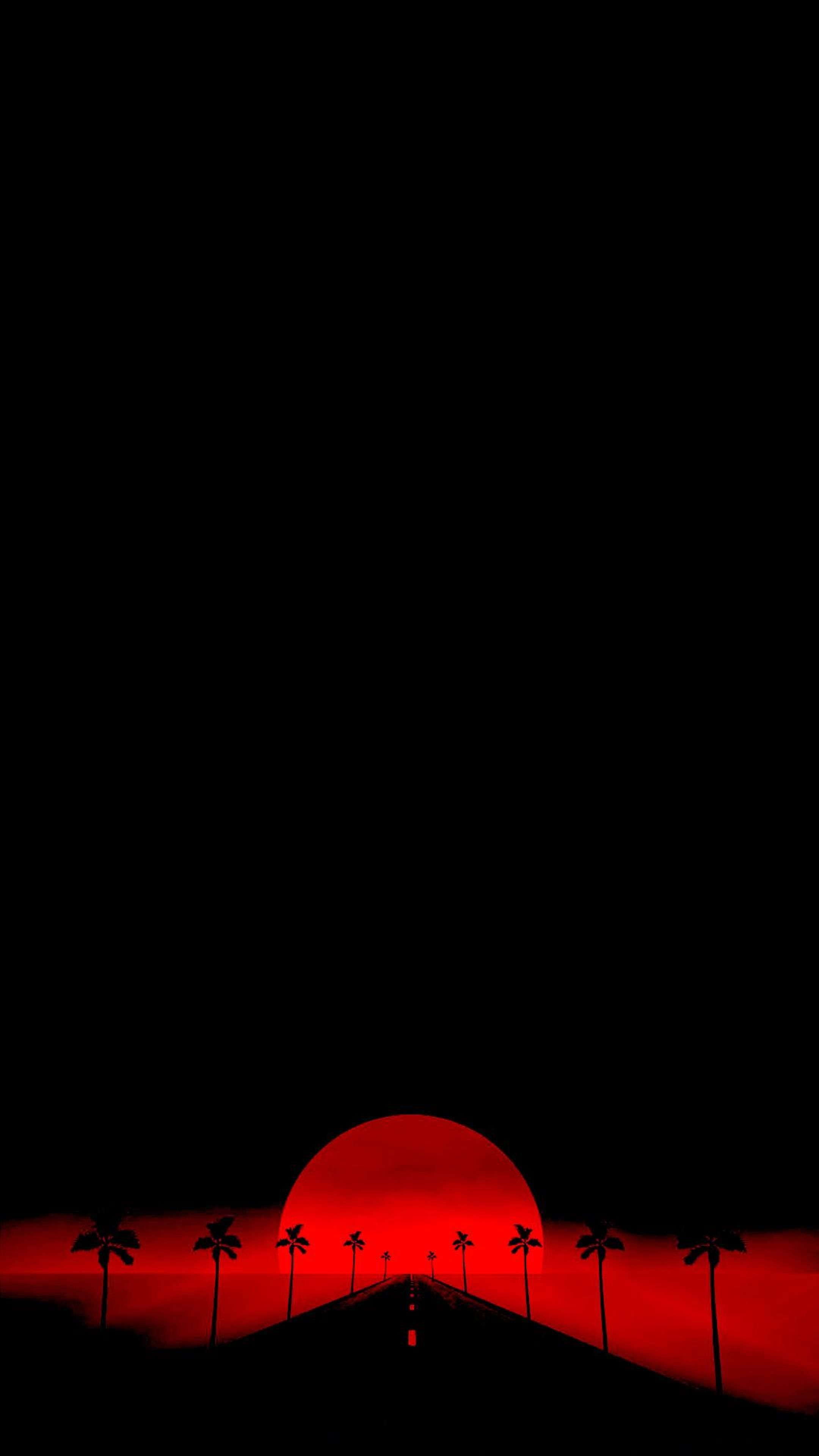 Red And Black Minimalist Wallpaper Posted By Samantha Sellers