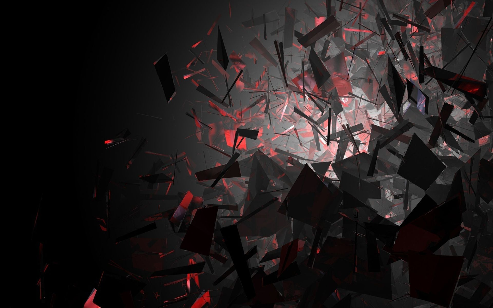 Red And Black Shards Wallpaper Posted By Michelle Peltier