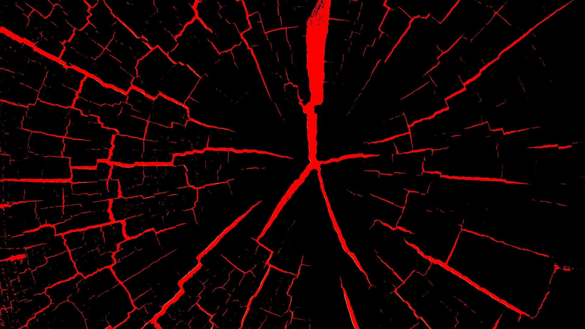 Download wallpaper 1920x1080 cranny red black full hd