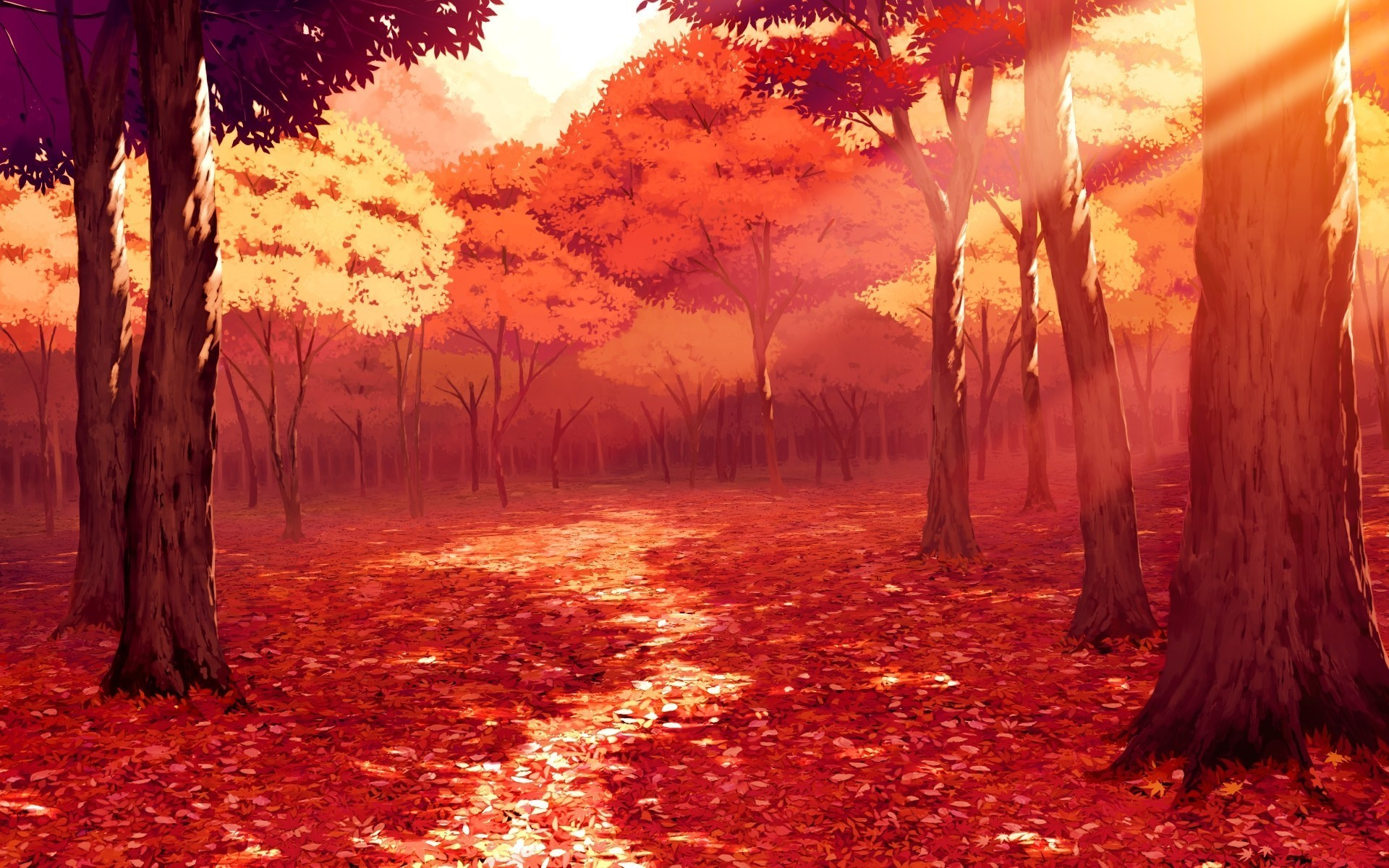 Red Anime Wallpapers Posted By Michelle Johnson