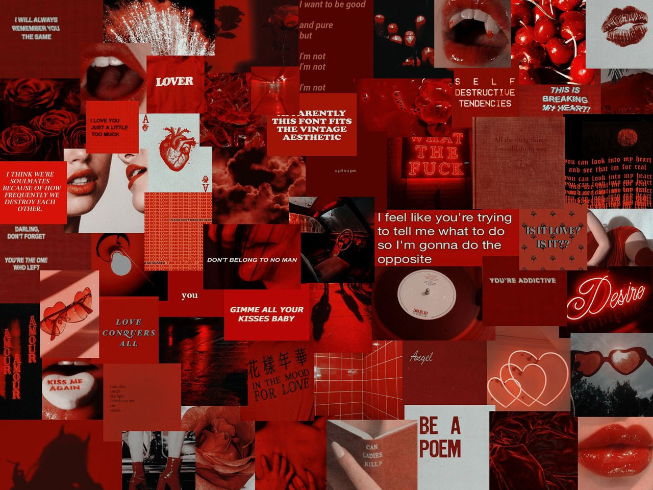 Red Background Aesthetic Posted By Zoey Walker