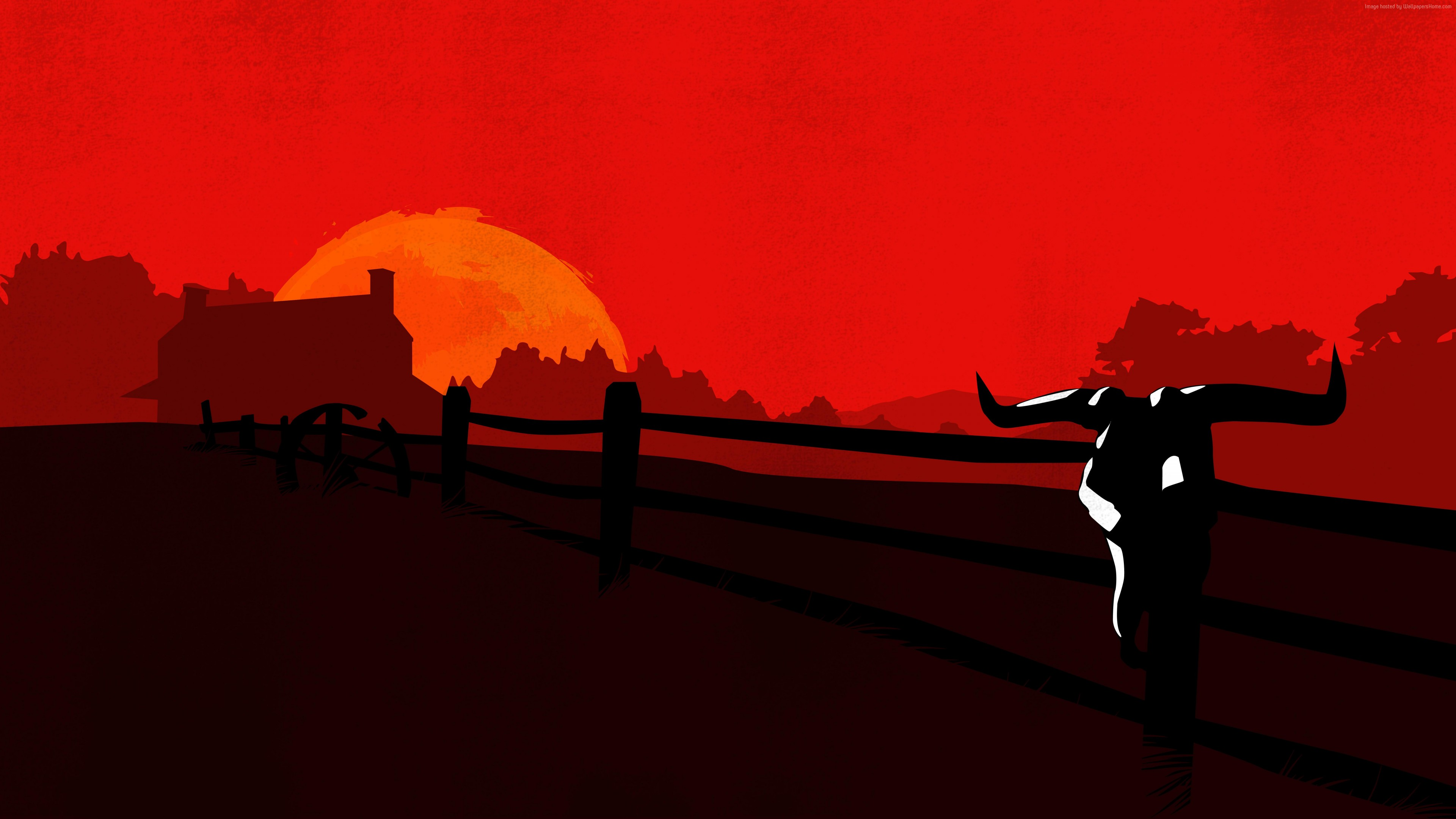 Red Dead Redemption 2 Wallpaper 4k Wallpaper Cart