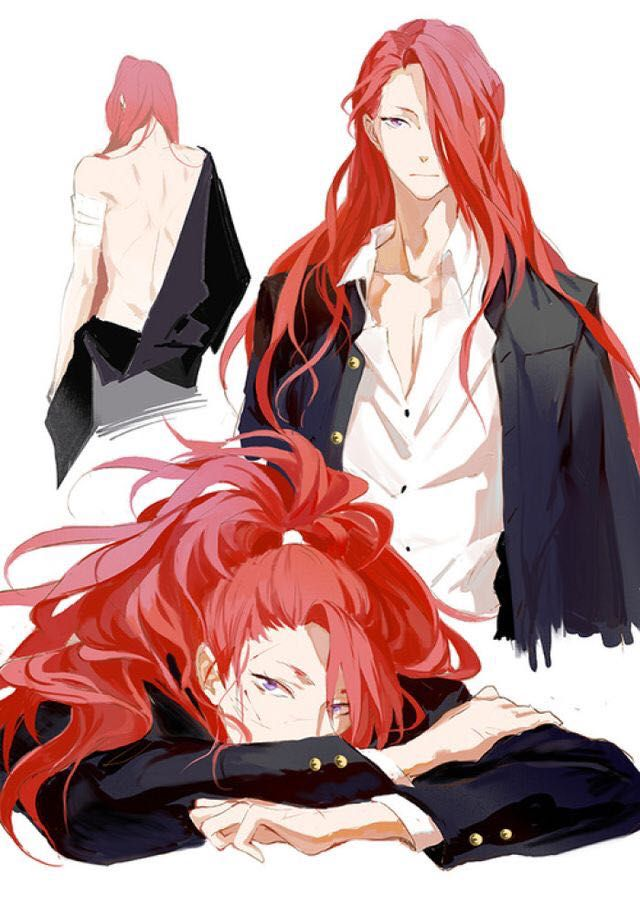 Red Hair Anime Guys Posted By Michelle Mercado