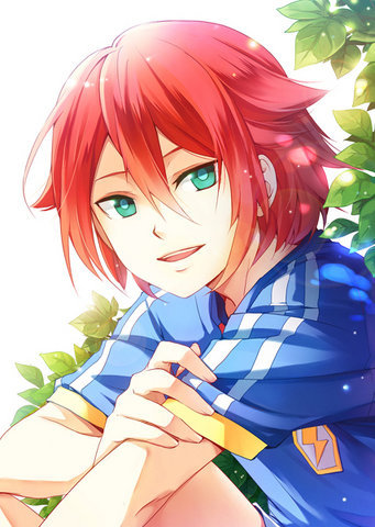 Red Hair Blue Eyes Anime Boy Posted By Sarah Anderson