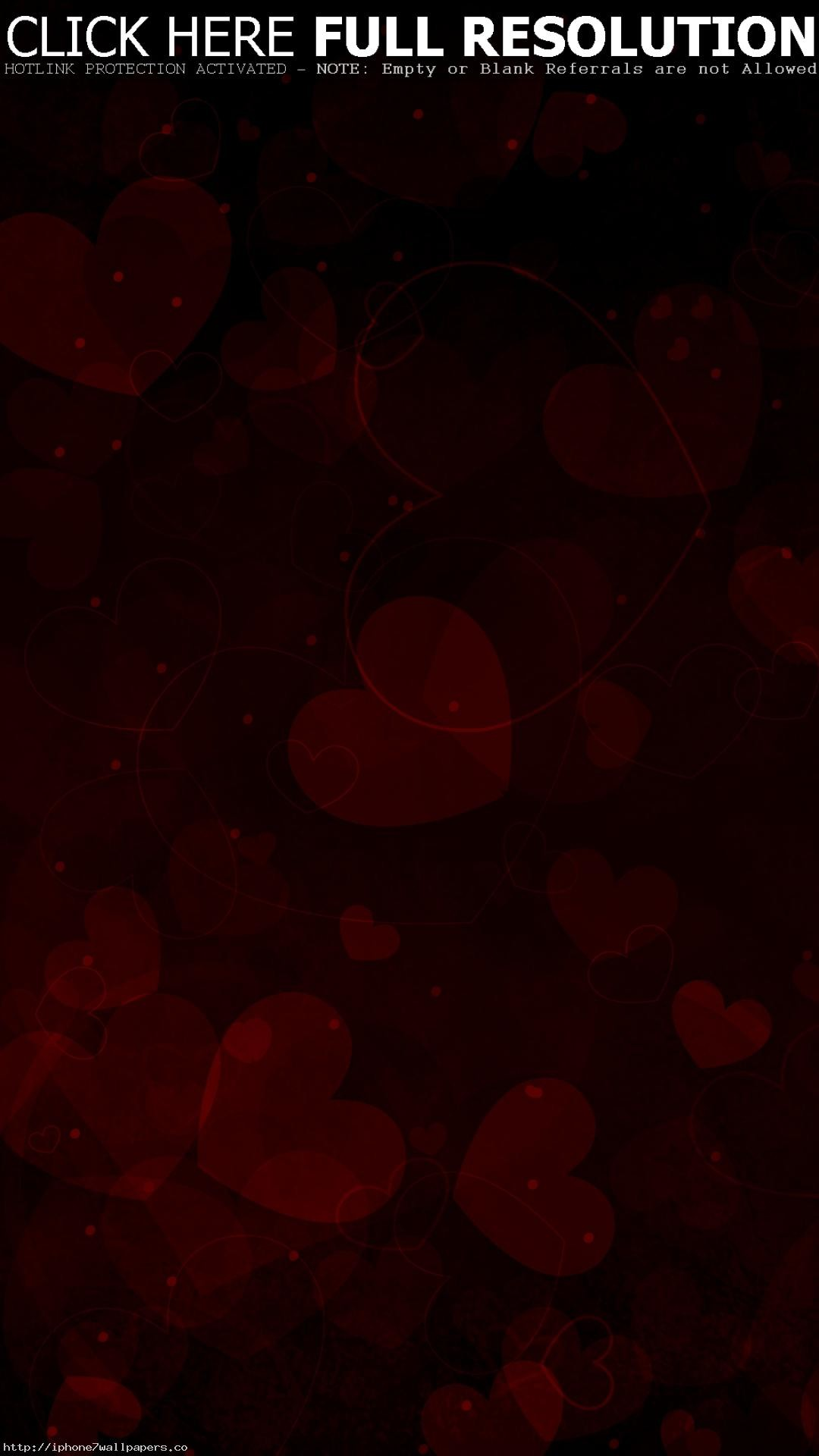 Red Heart With Black Background Posted By Zoey Simpson