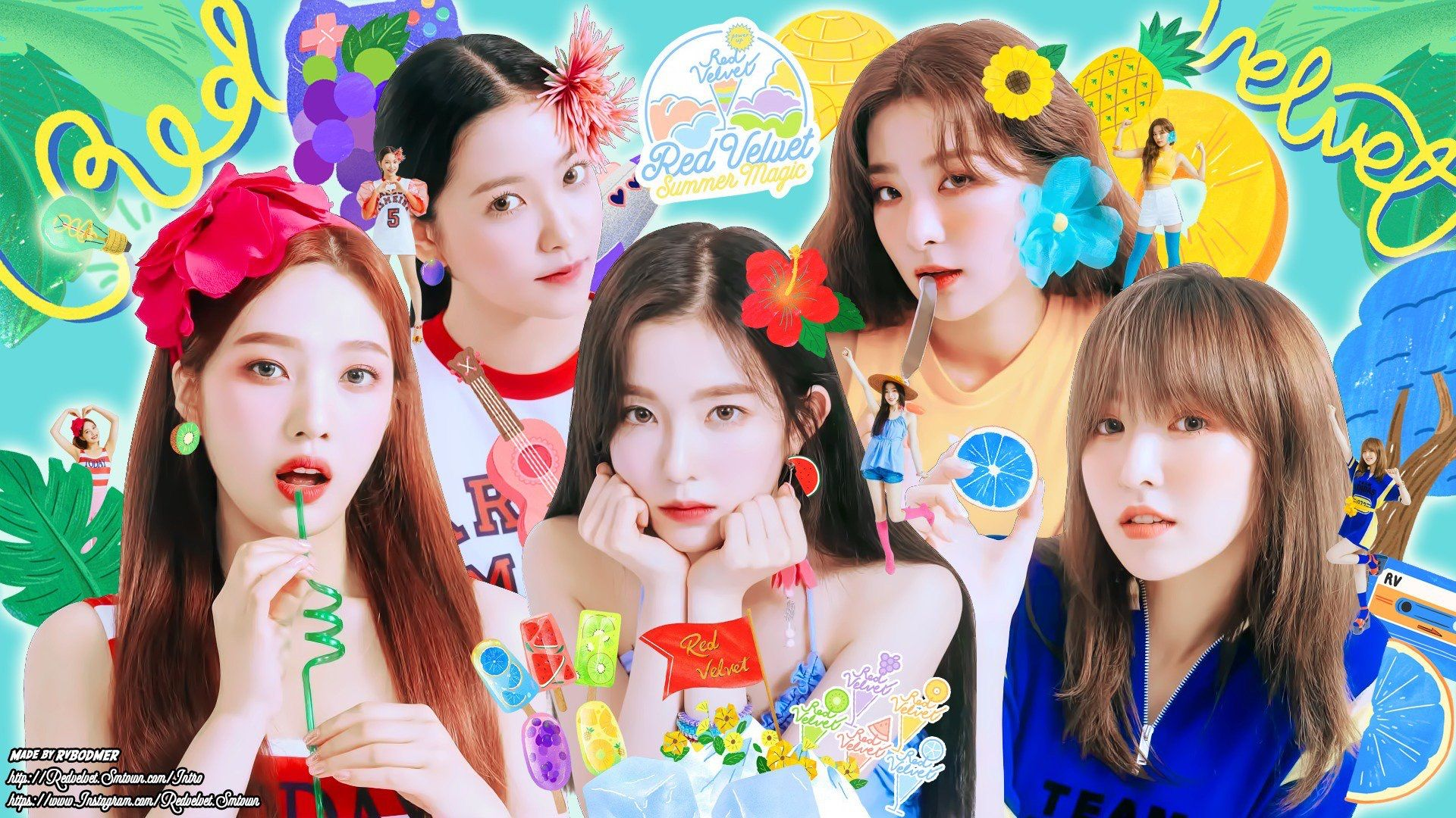 Red Velvet 1920x1080 Posted By Ethan Simpson
