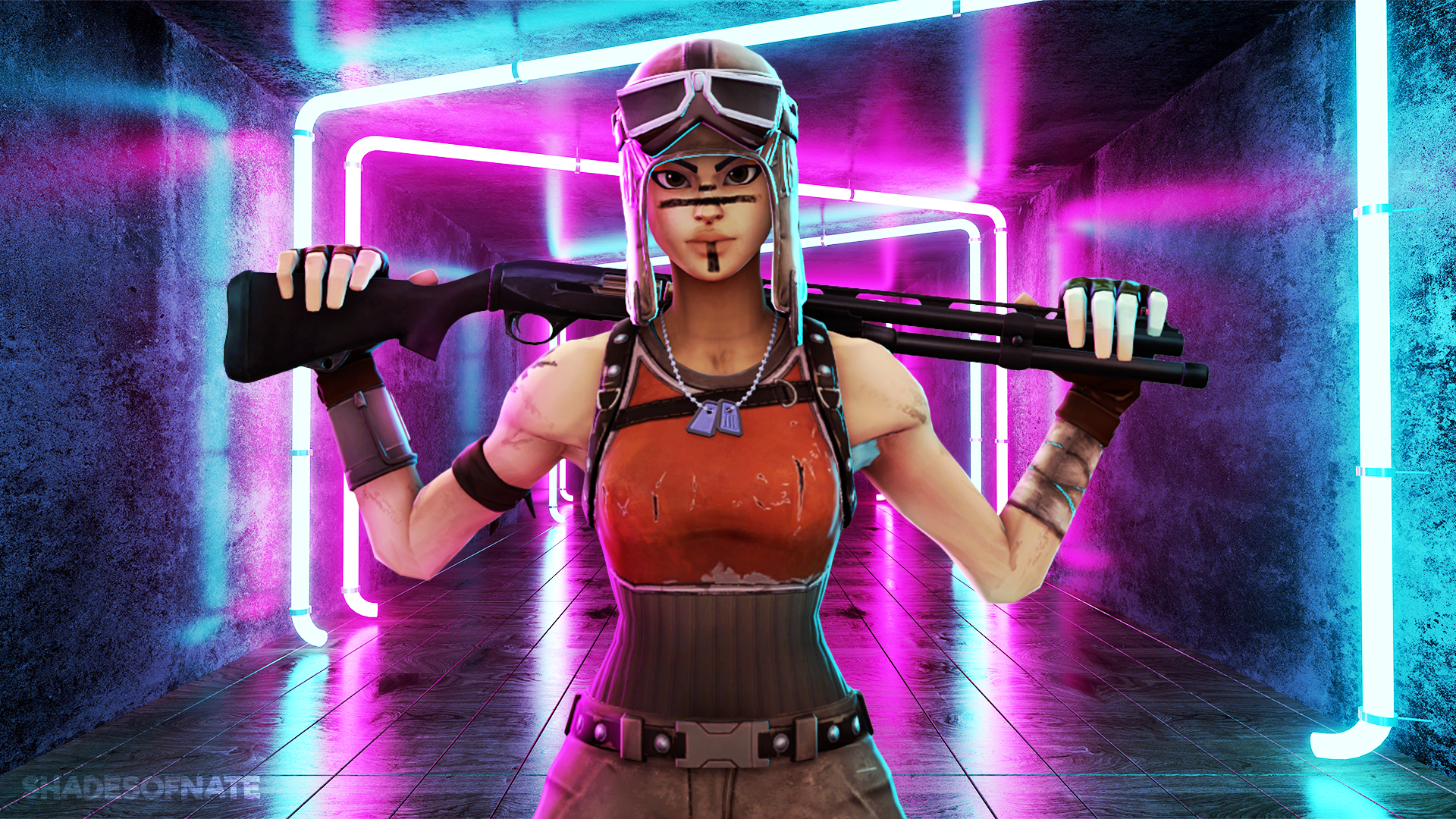 Renegade Raider Fortnite Posted By Ryan Cunningham