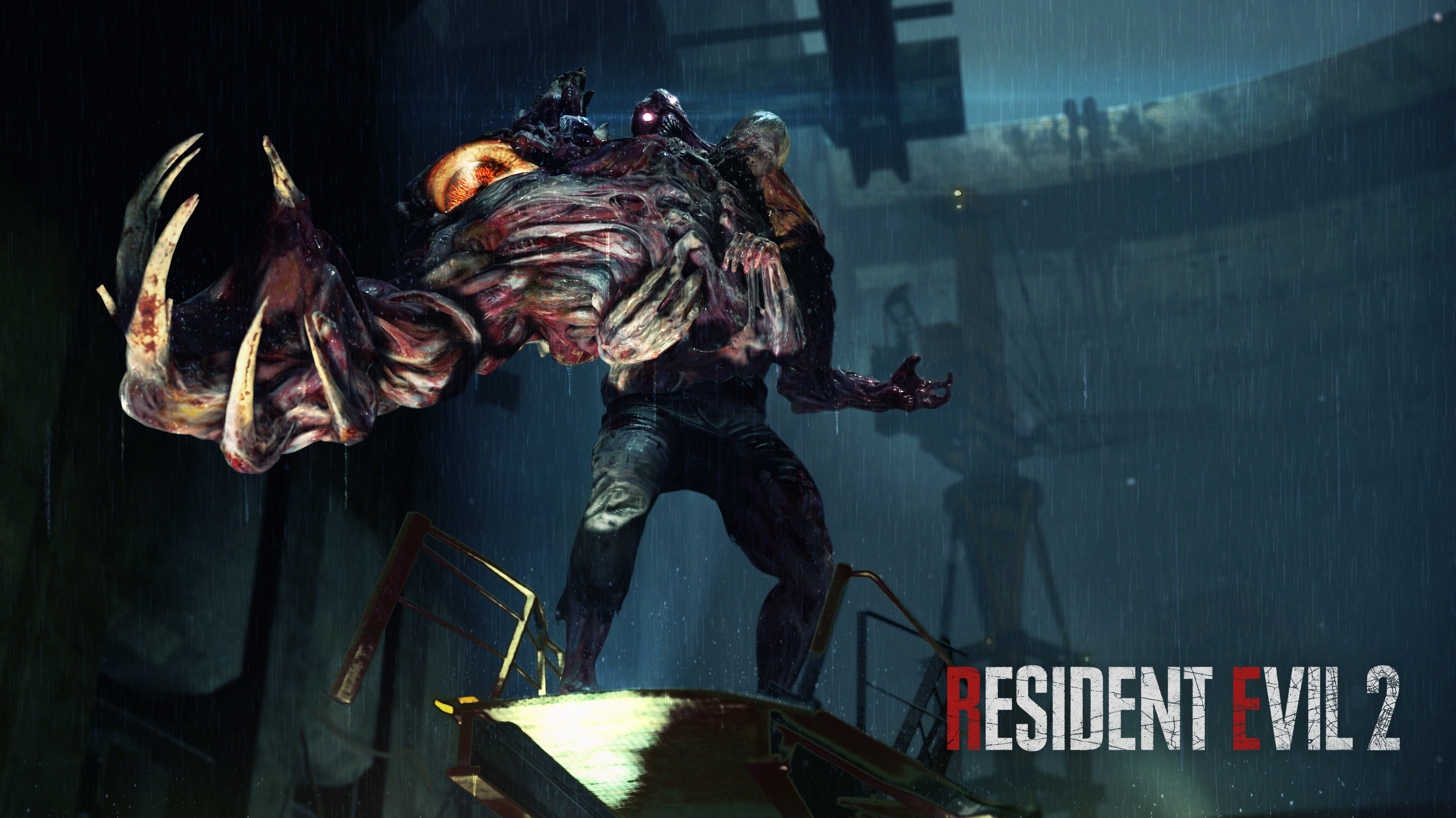 Resident Evil 2 Hd Wallpaper Posted By Zoey Johnson