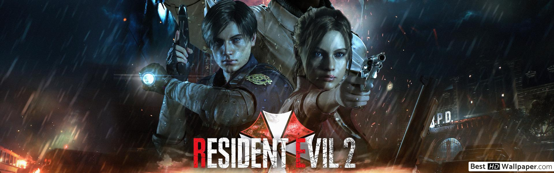 Resident Evil 2 Remake Wallpaper 4k Posted By Samantha Thompson