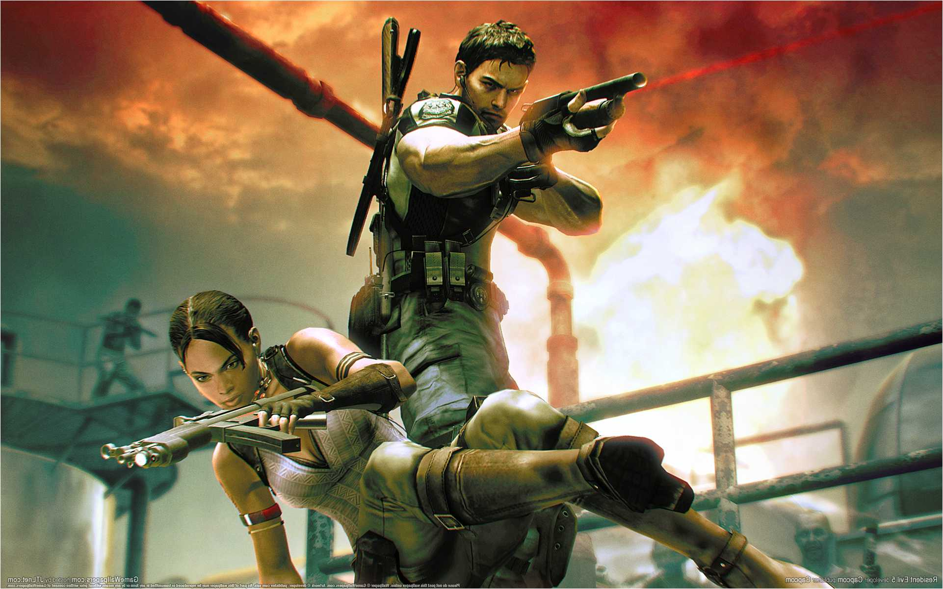 Resident Evil 5 Wallpapers Posted By Christopher Mercado