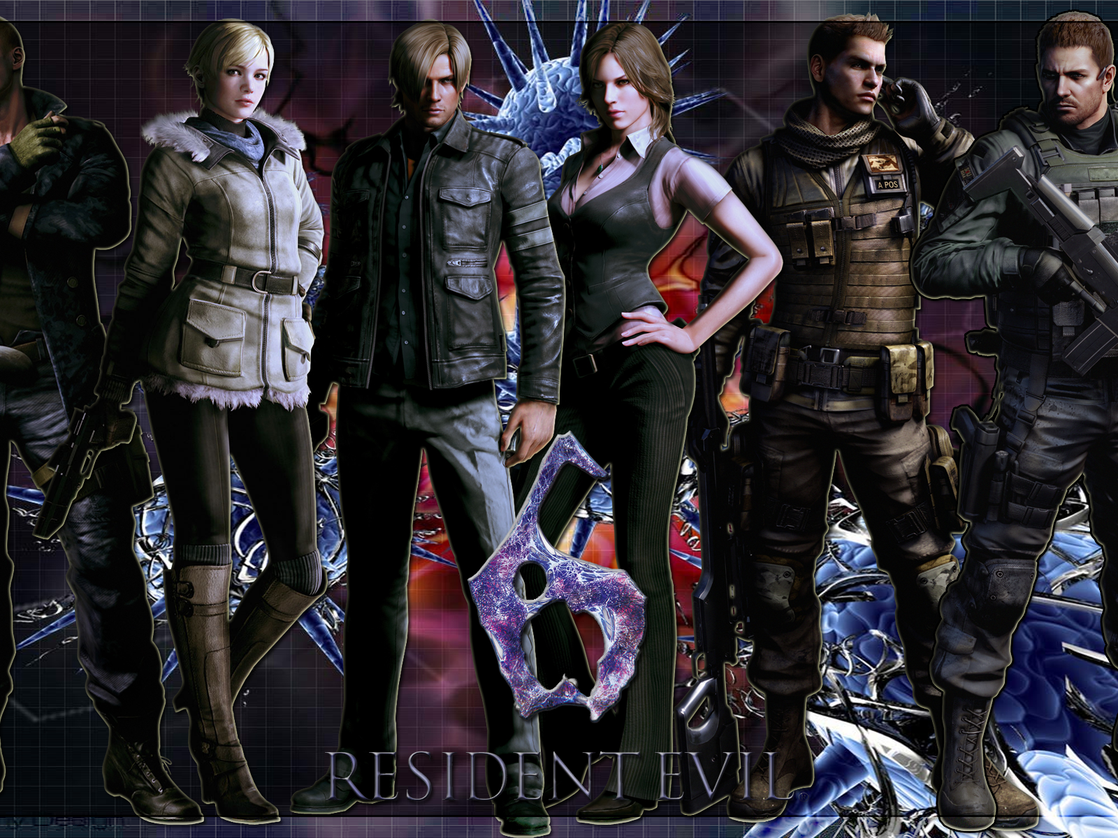 Resident Evil 6 Wallpapers Posted By Zoey Johnson