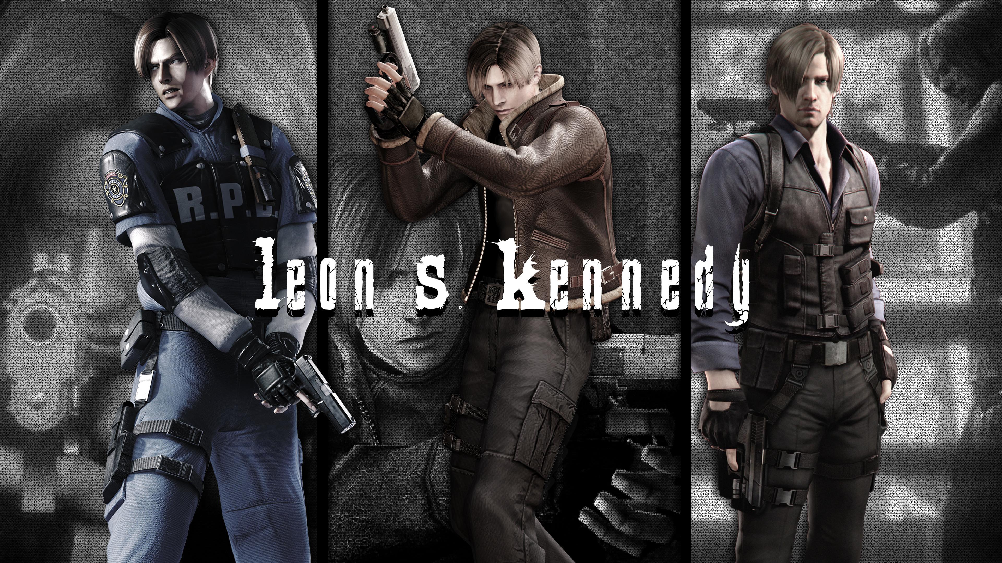 Resident Evil Leon Wallpaper Posted By Christopher Peltier