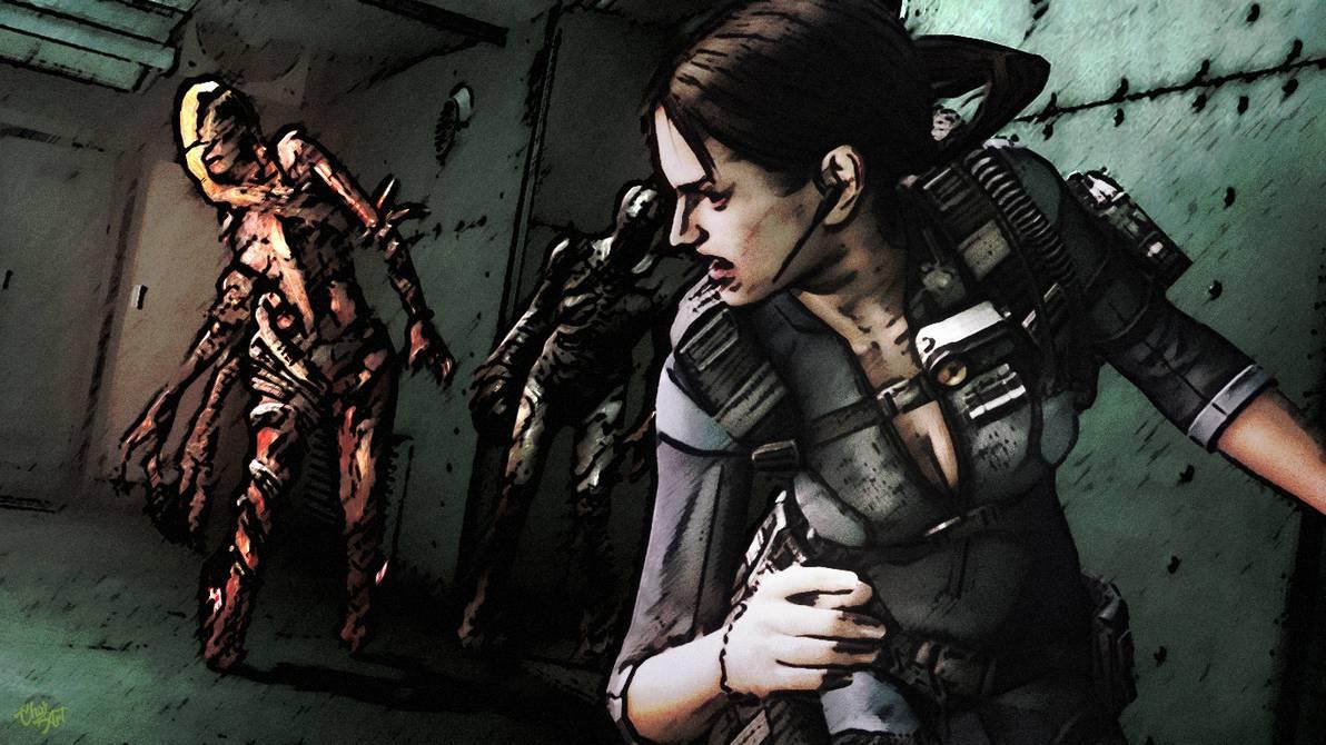 Resident Evil Revelations Jill Valentine Wallpaper Hd Posted By