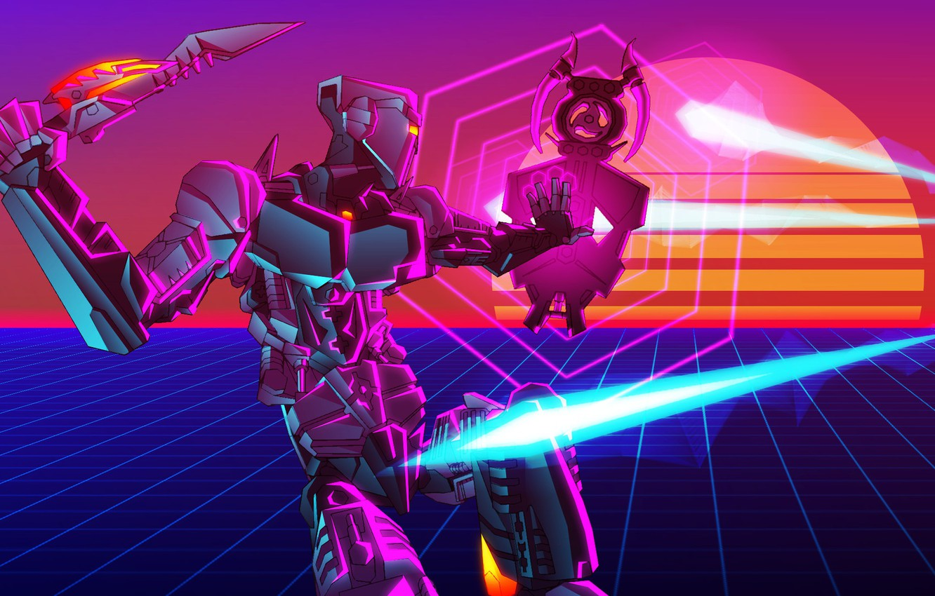 Retro Robot Wallpaper Posted By Michelle Simpson