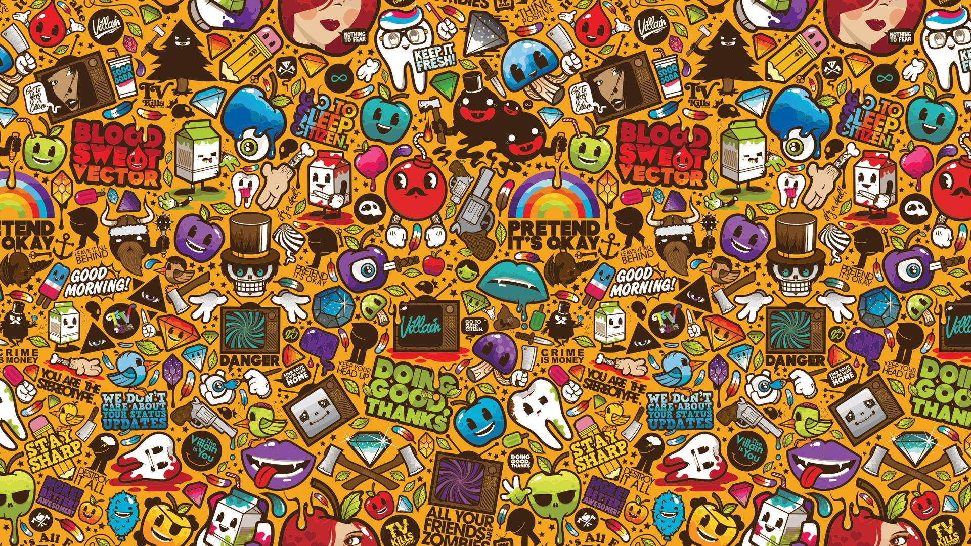 Retro Wallpaper Desktop Posted By Zoey Simpson